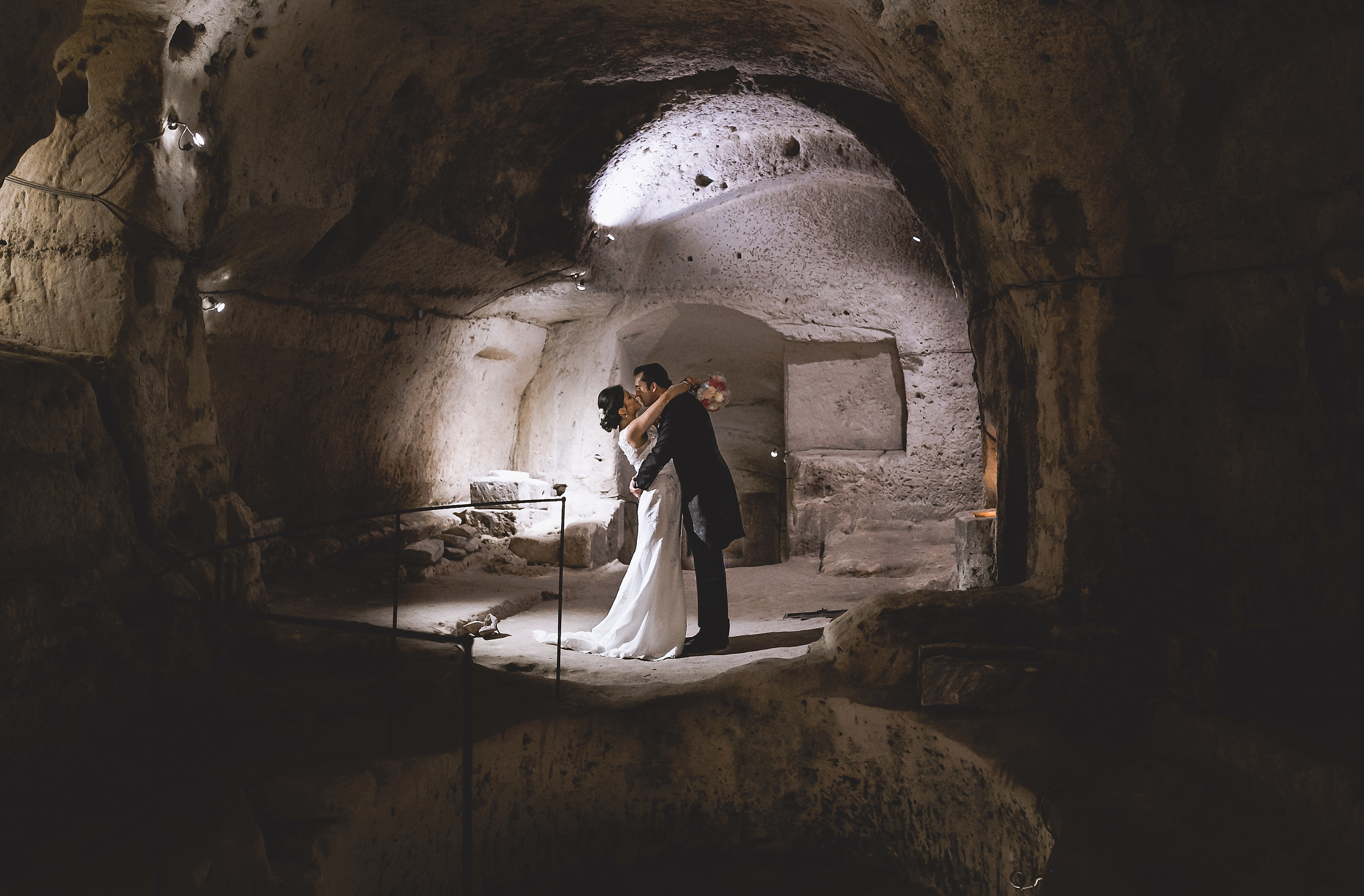 matera wedding photos by beatrici photography - matera cave wedding photos