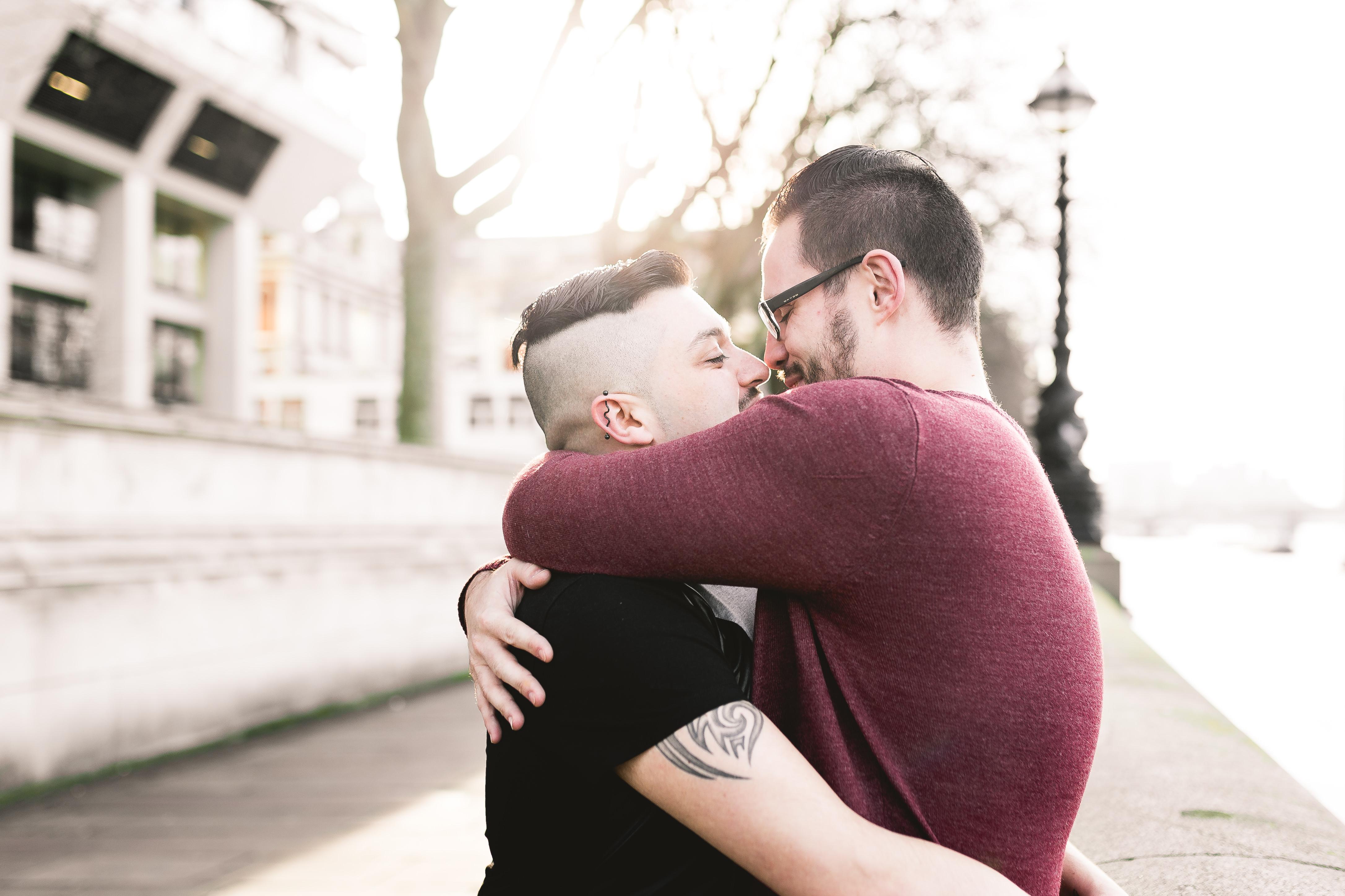 gay same sex engagement shoot photographer