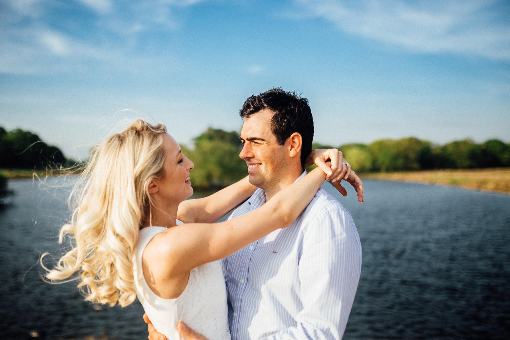 richmond park wedding photos
