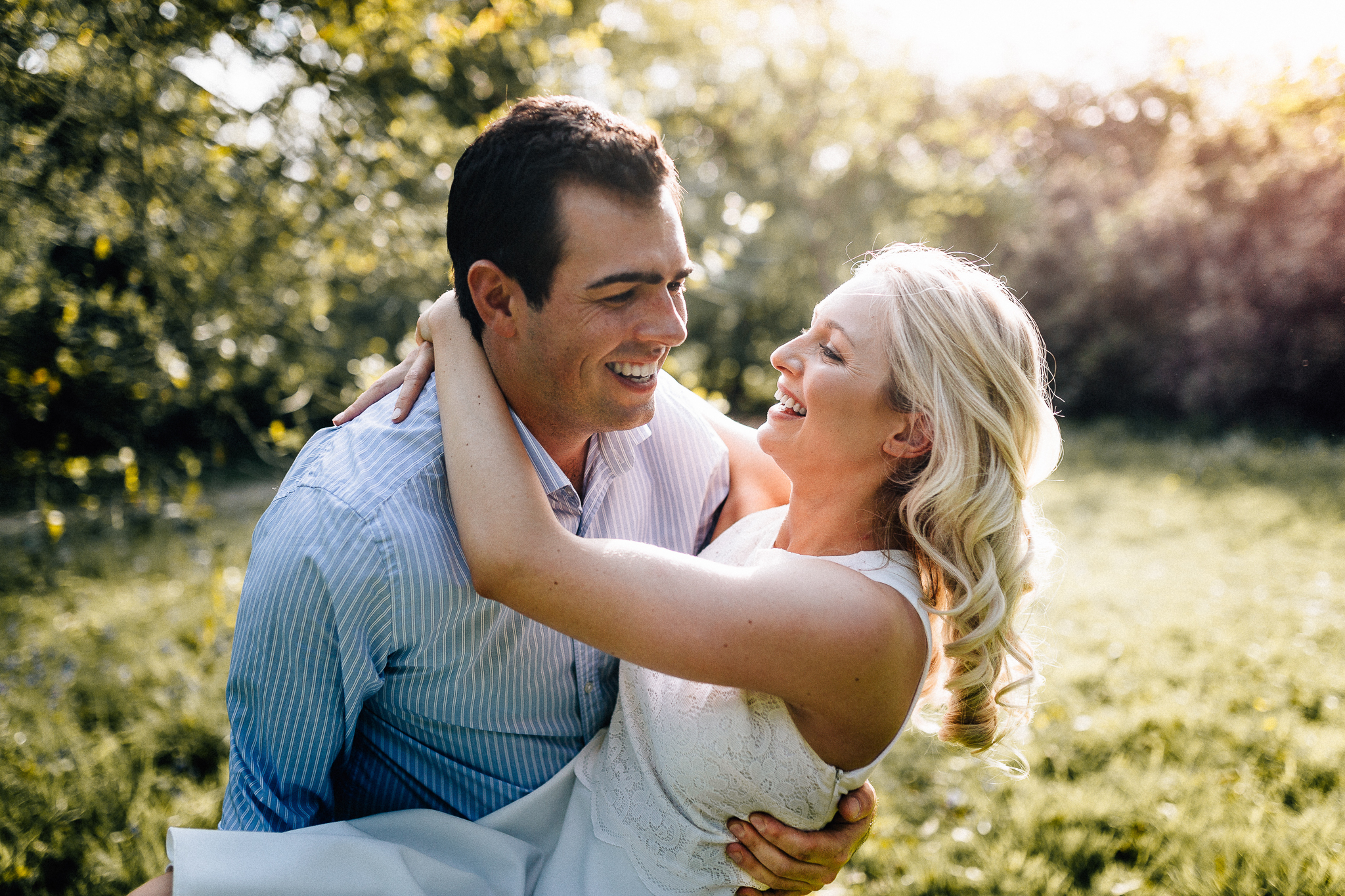 richmond park wedding photographer engagement shoot