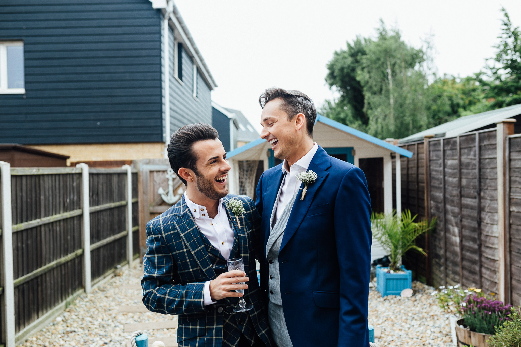 london gay wedding groom prep