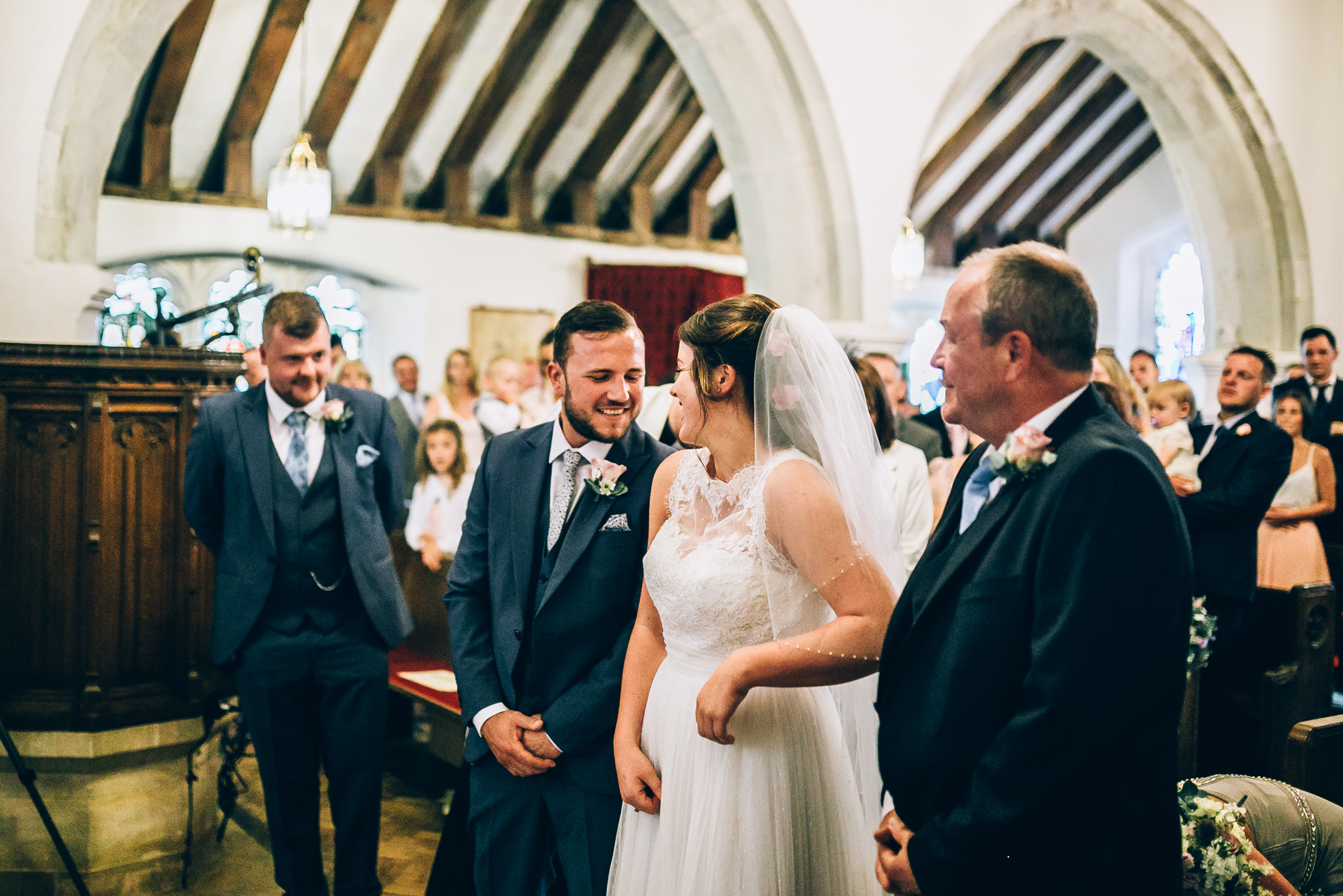colorful rustic and vintage tipi wedding photography in surrey ceremony