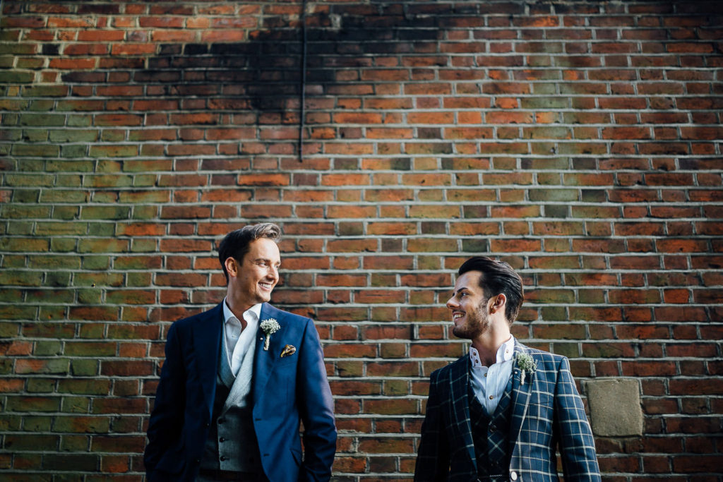 gay couple getting married in London