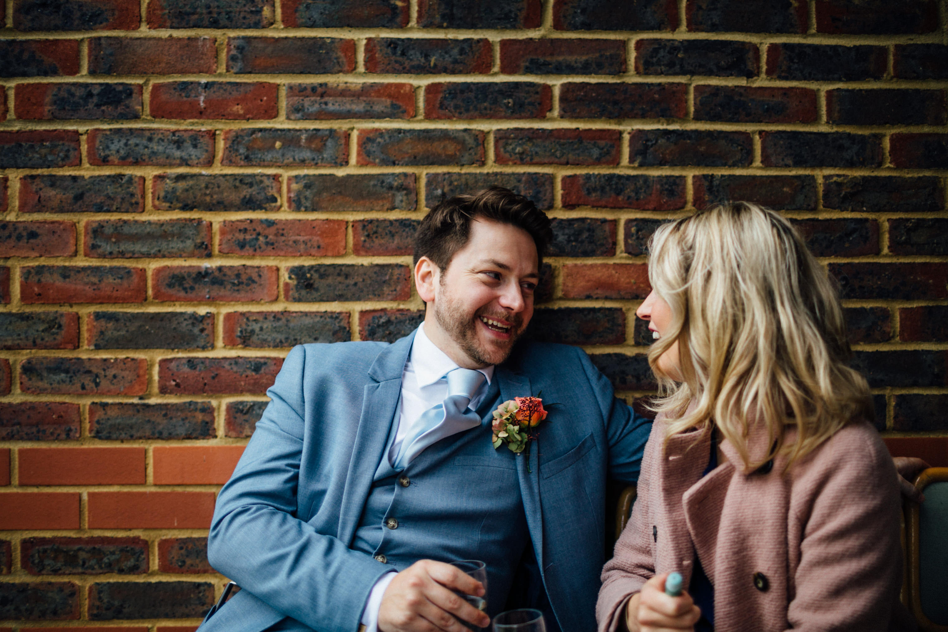 quirky autumn wedding in london wedding photographer