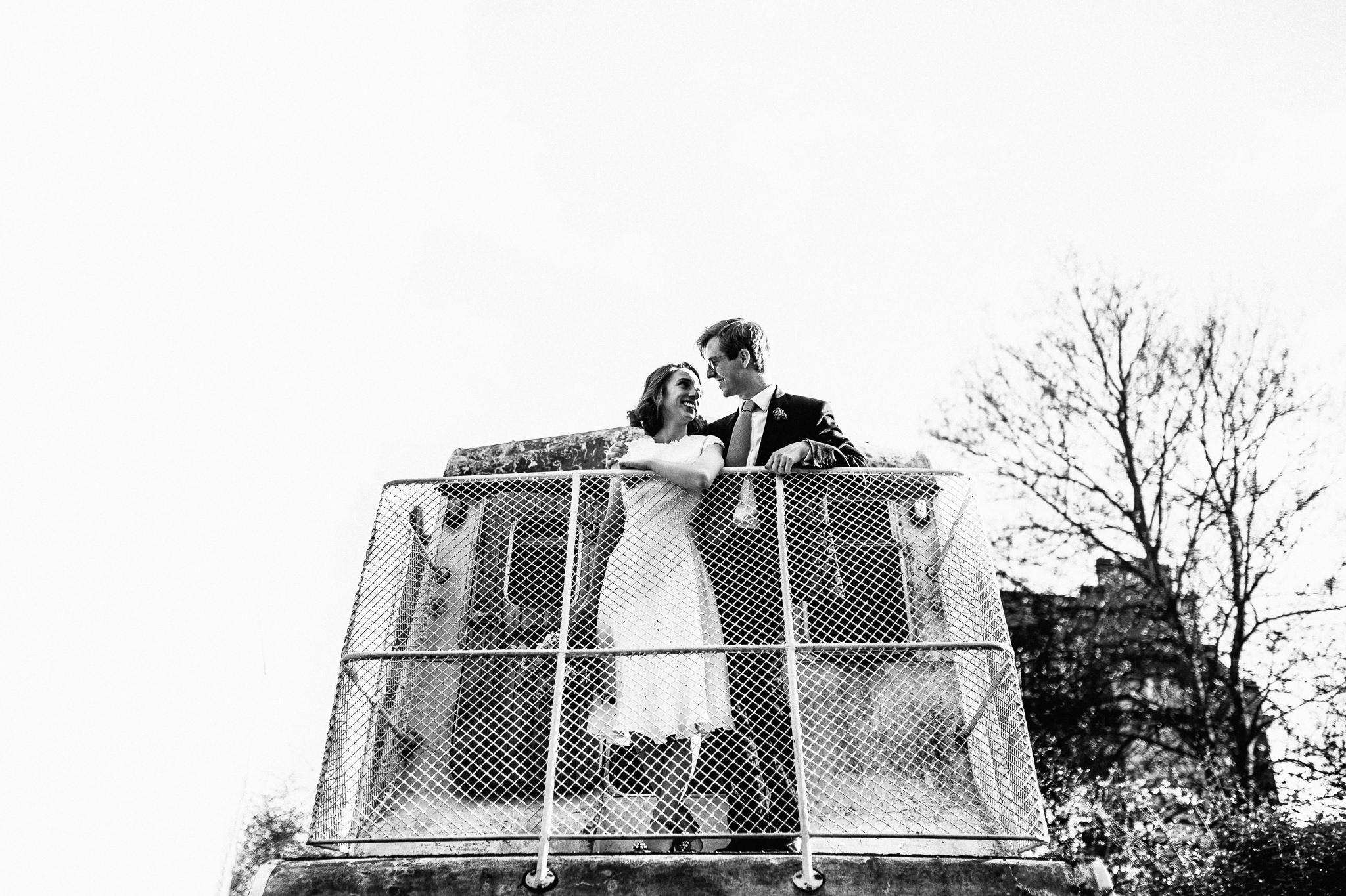 informal, fun, quirky hackney wedding