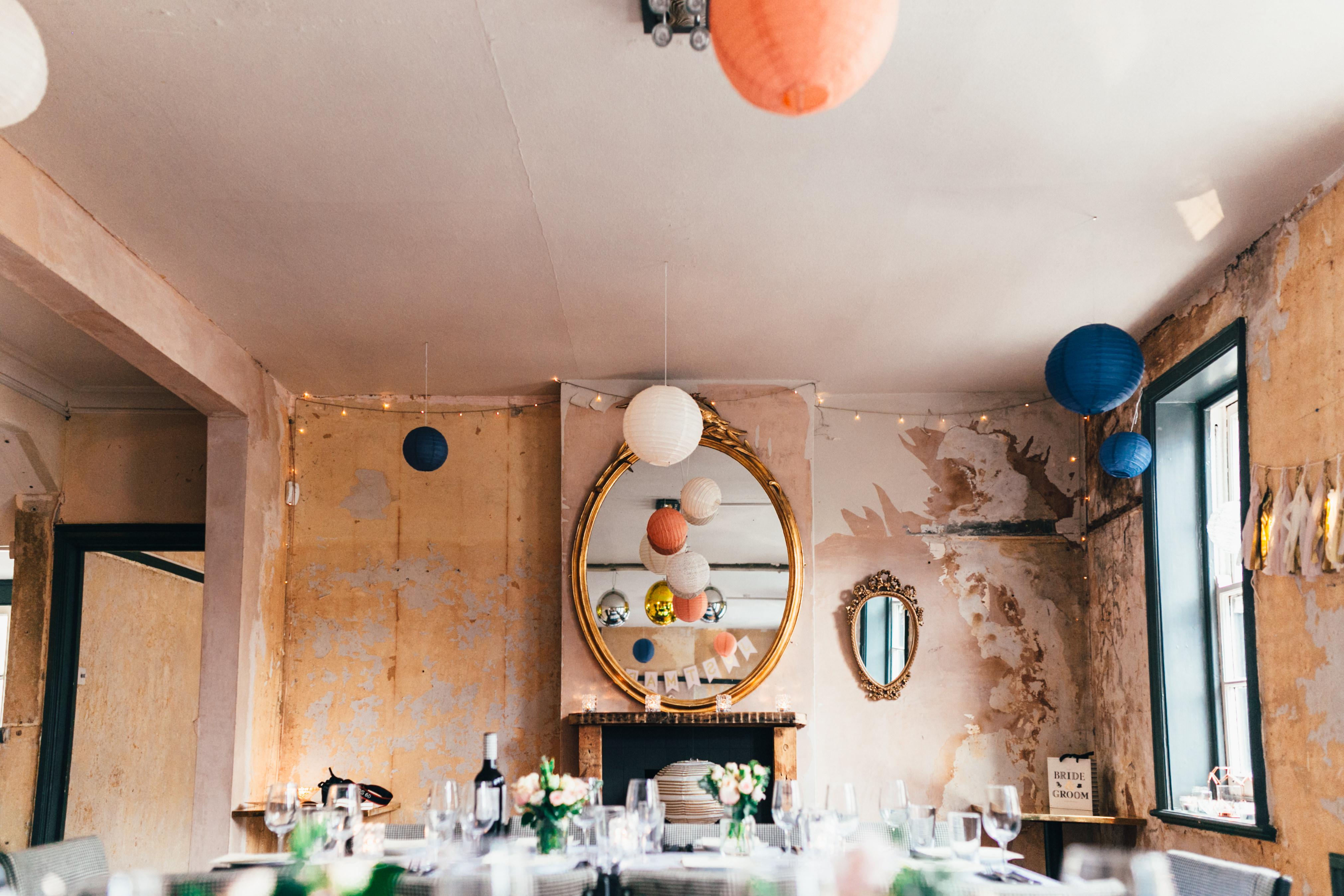 north london brighton hipster pub wedding
