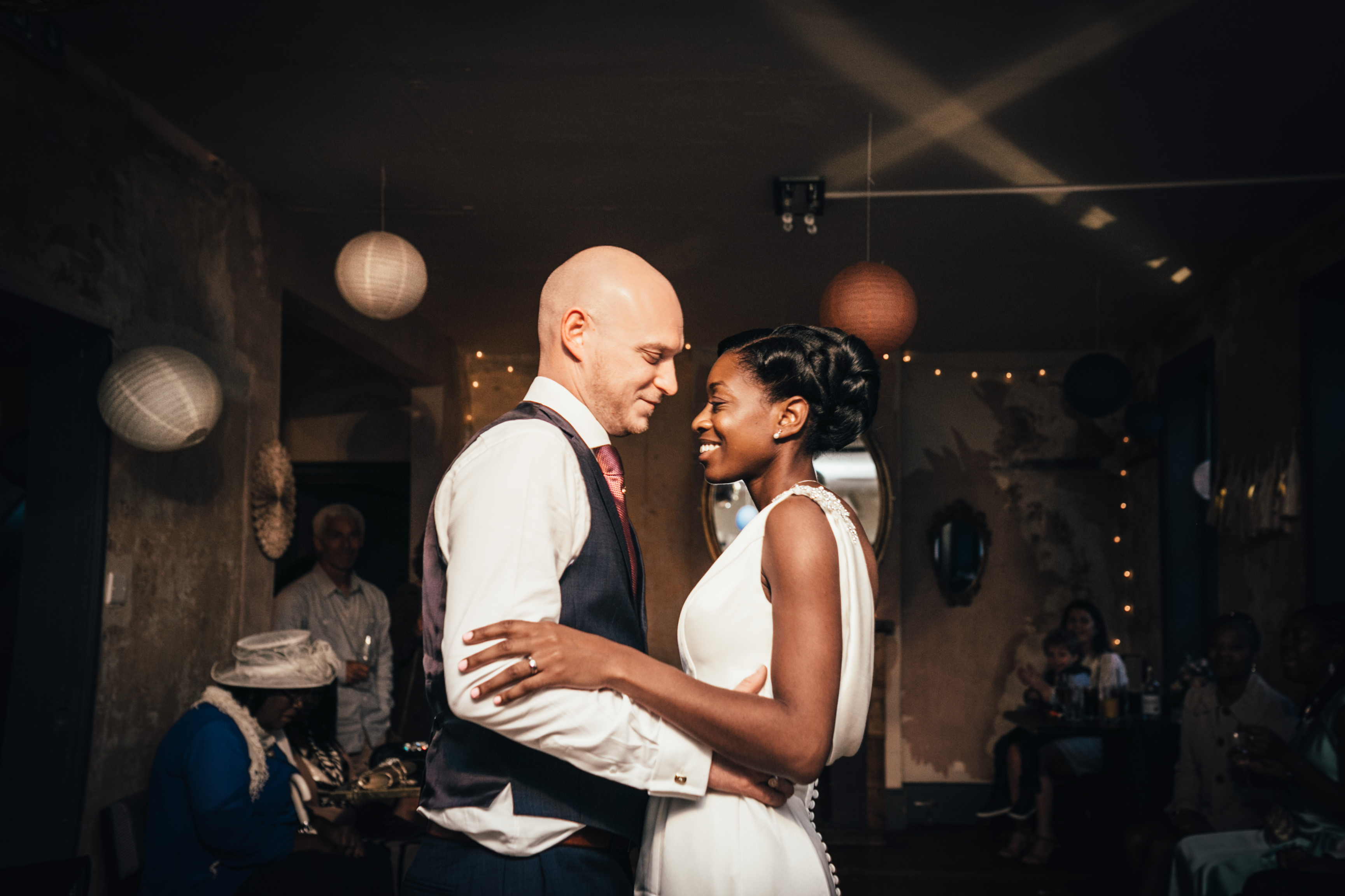 north london brighton hipster pub wedding