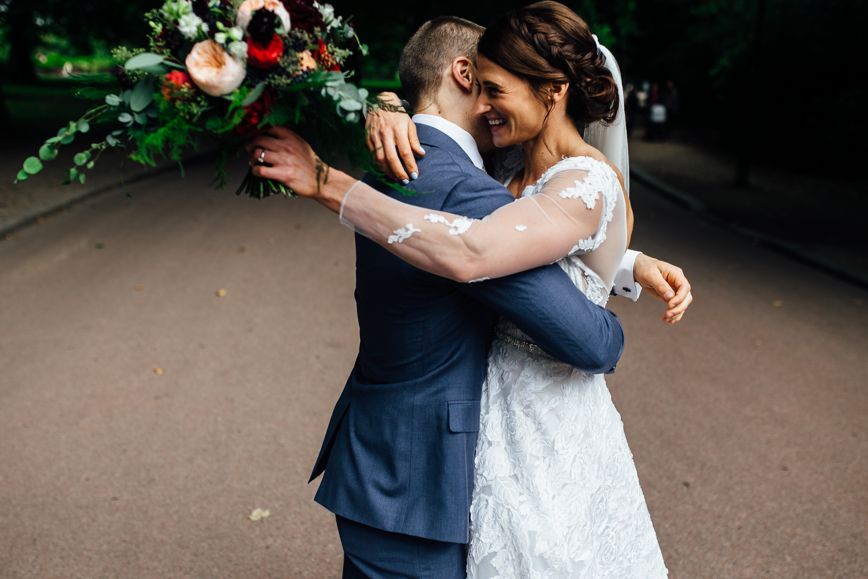 wedding photos at battersea park