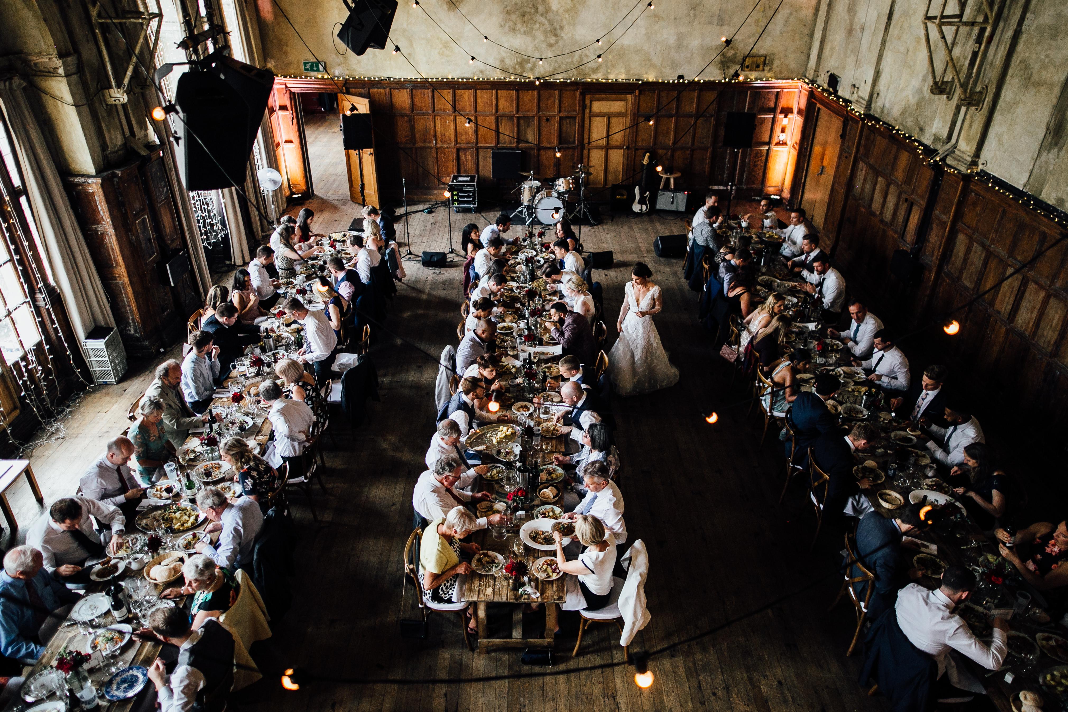 wedding at battersea arts centre