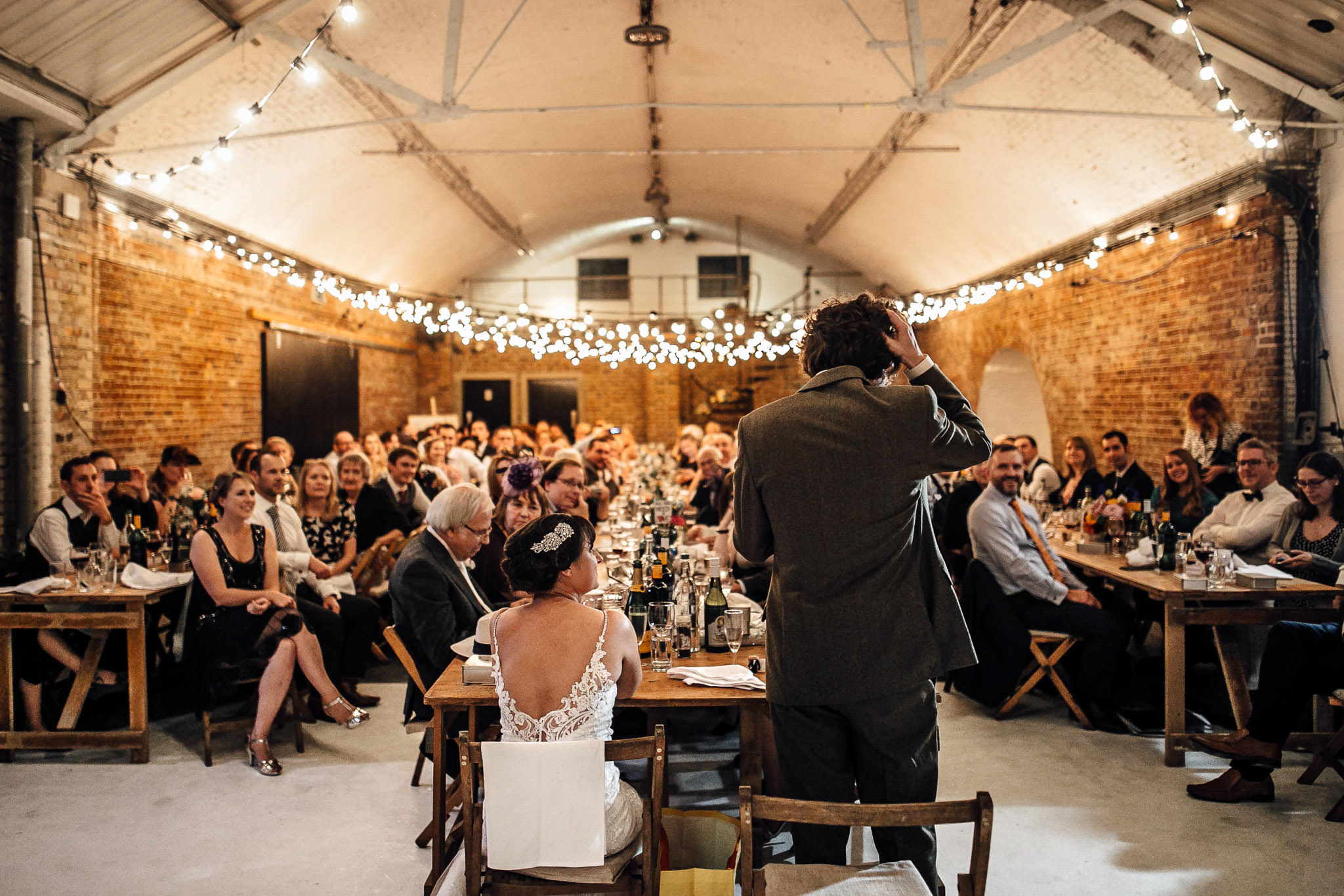 wedding reception at shoreditch studios photos