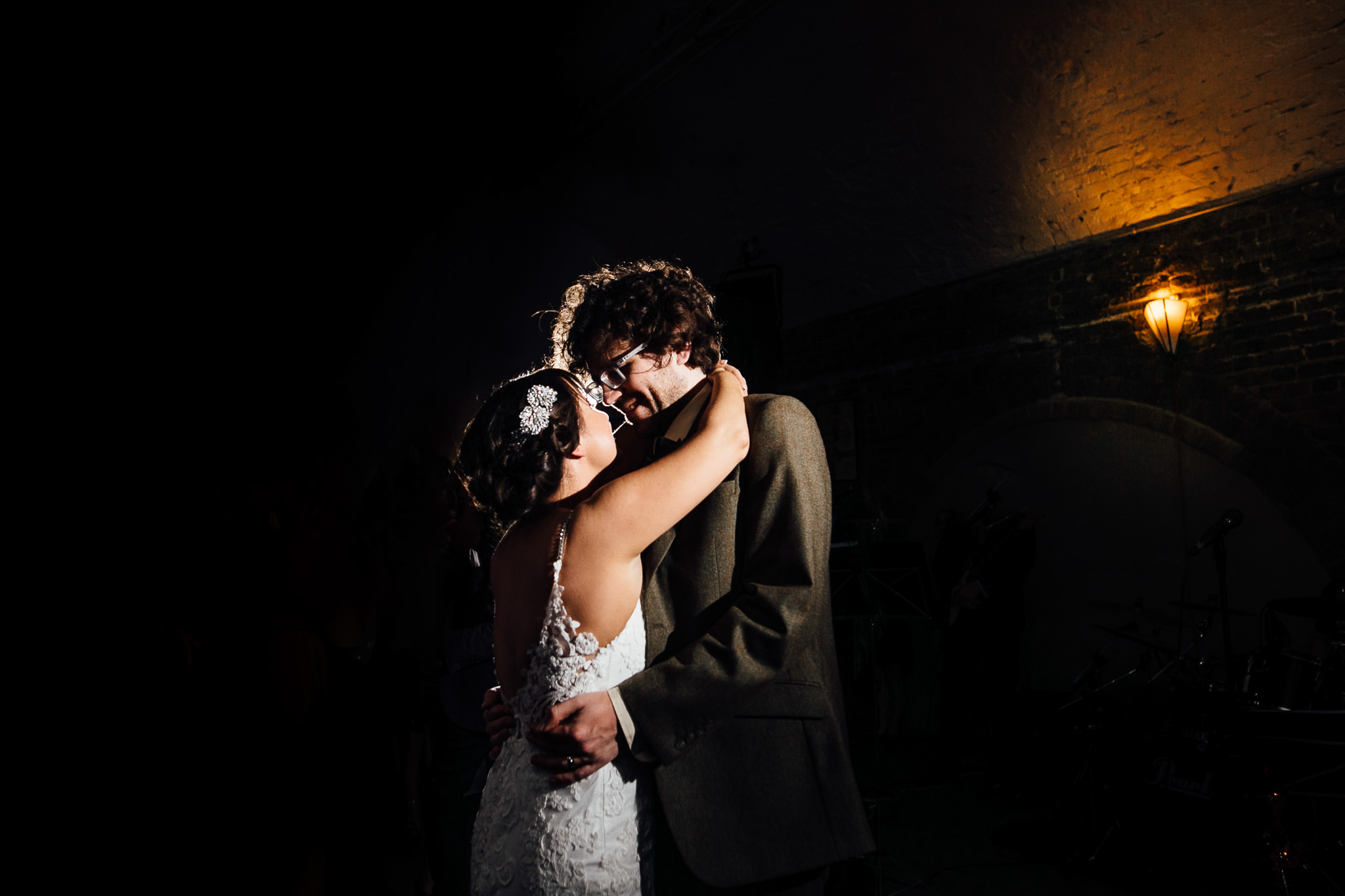 first dance photos at wedding at shoreditch studios wedding