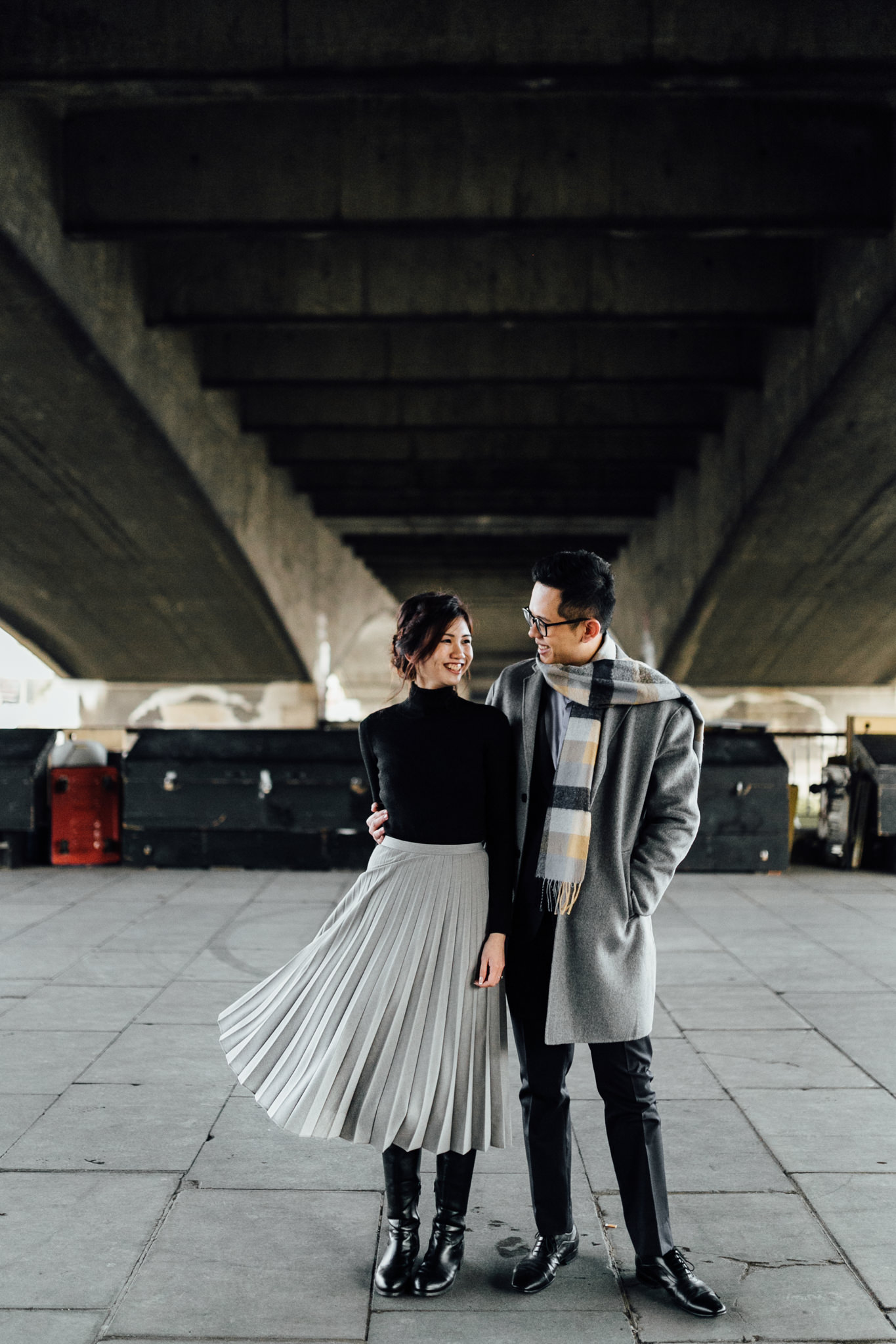 south bank engagement shoot london