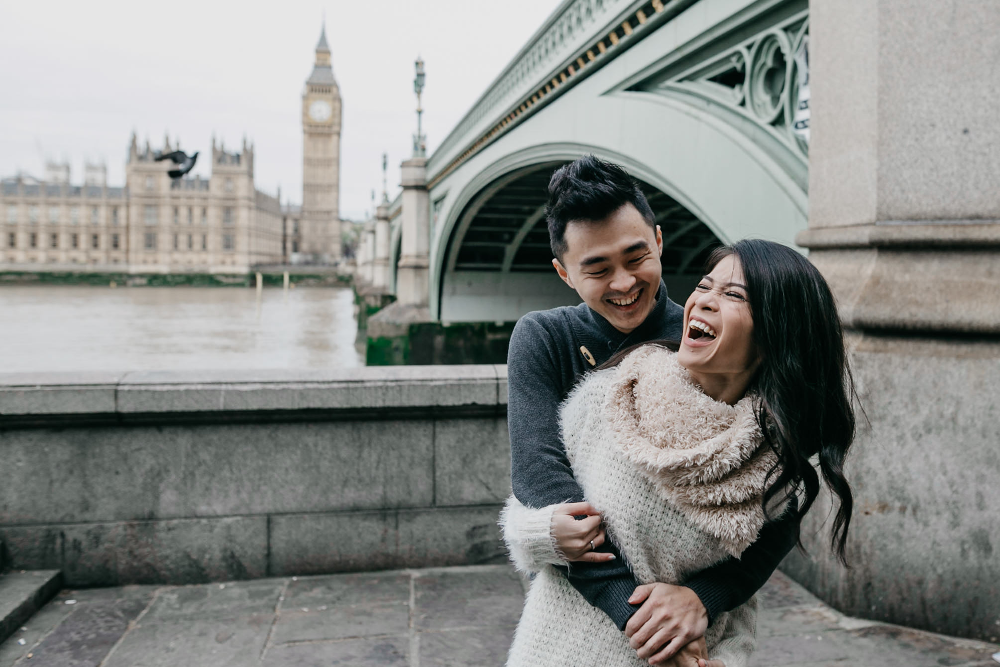 pre wedding shoot and holiday photo shoot in london