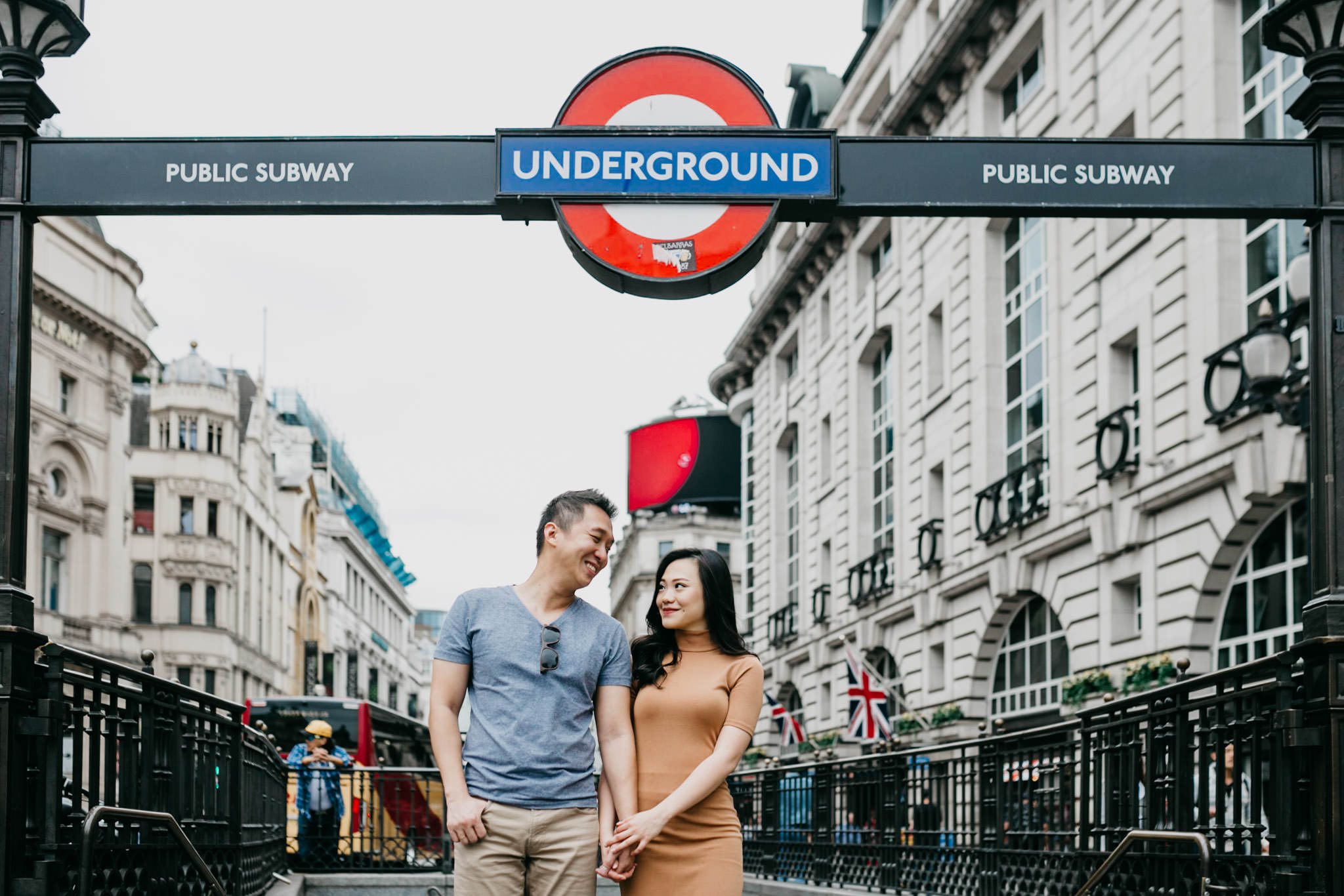 fun romantic locations to shoot couples in London