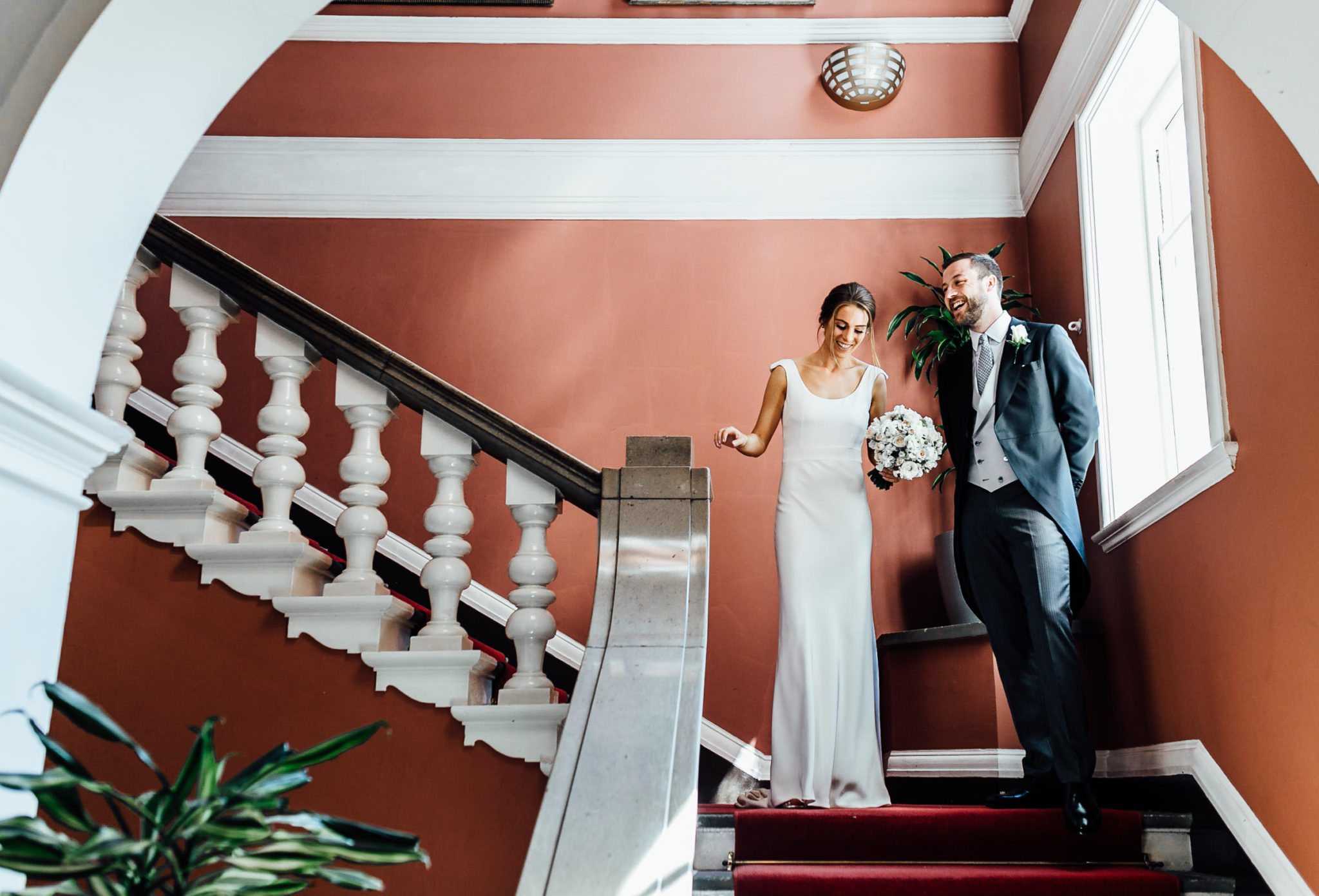 wedding photography at chelsea town hall and orange