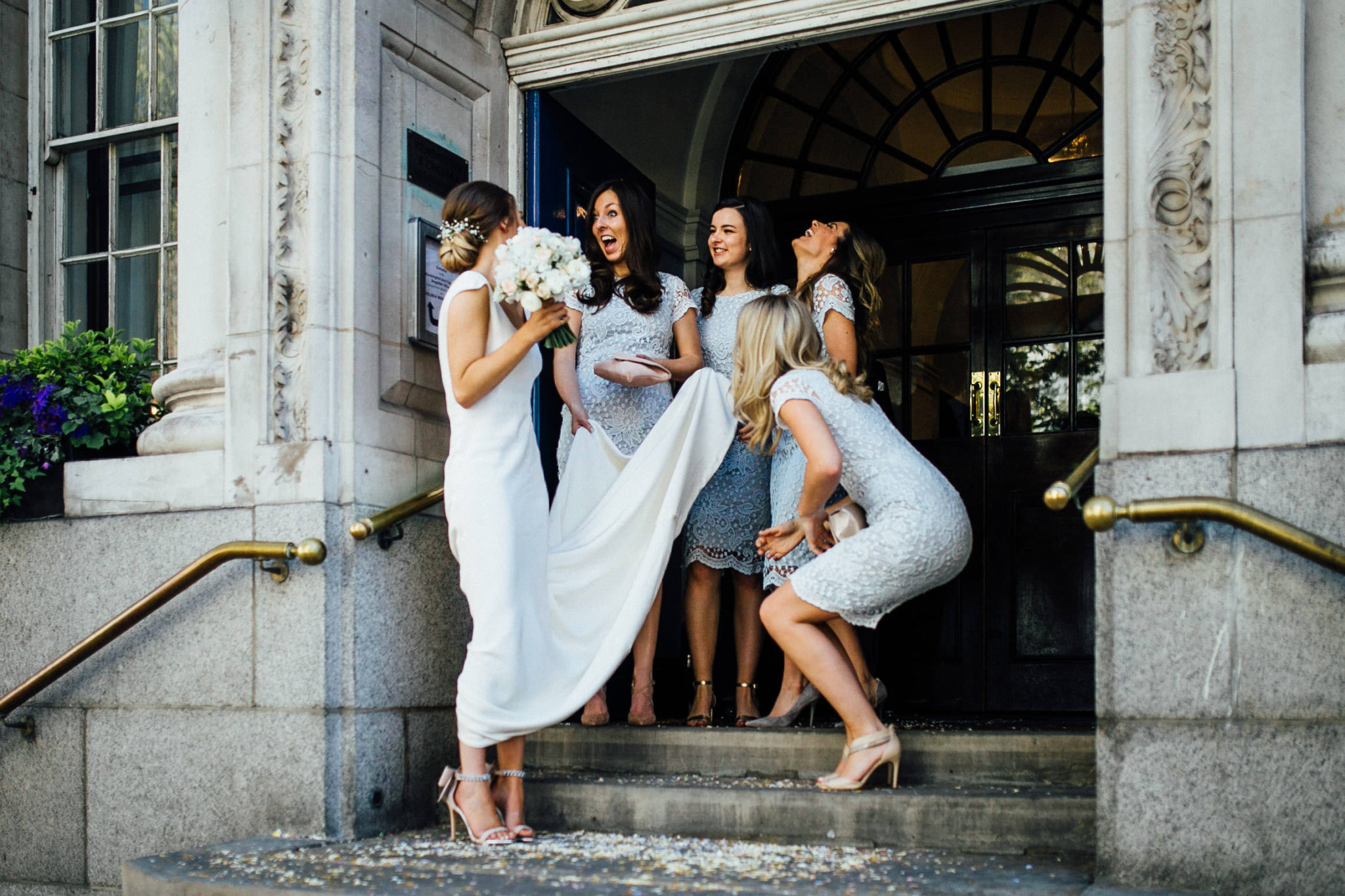 chelsea town hall wedding photos