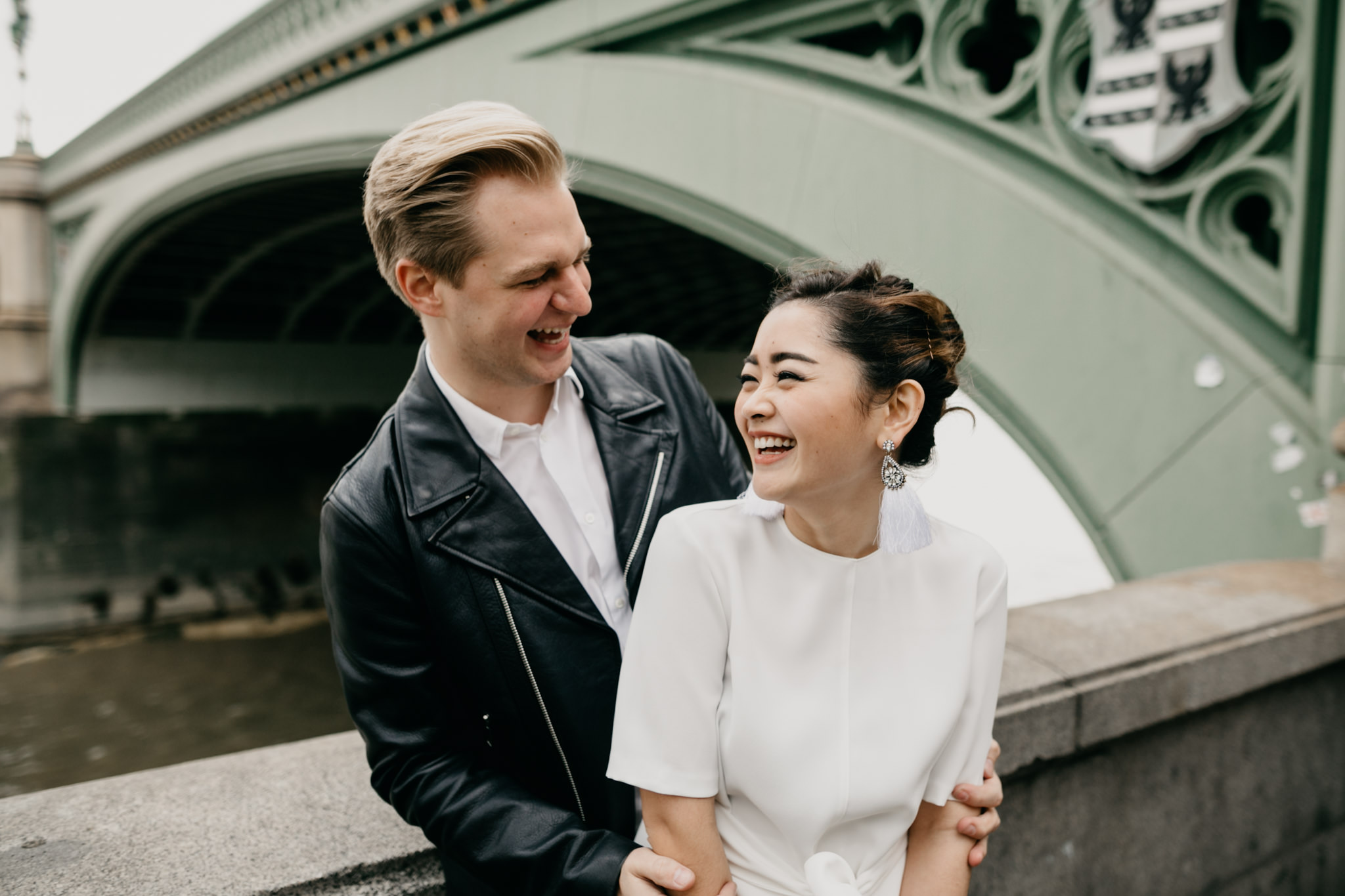 Westminster bridge engagement shoot at big ben london