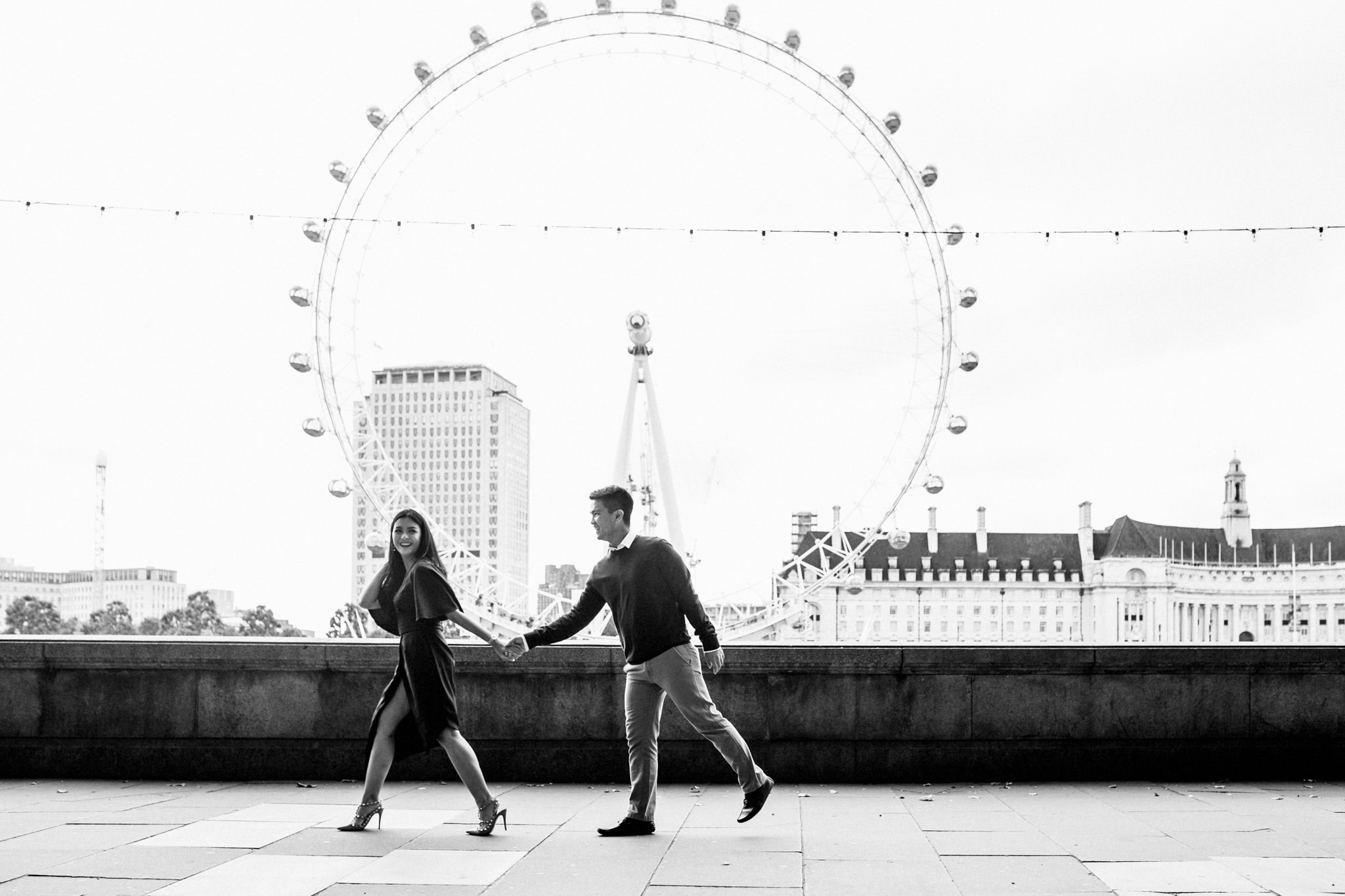 best locations for engagement shoots in london eye