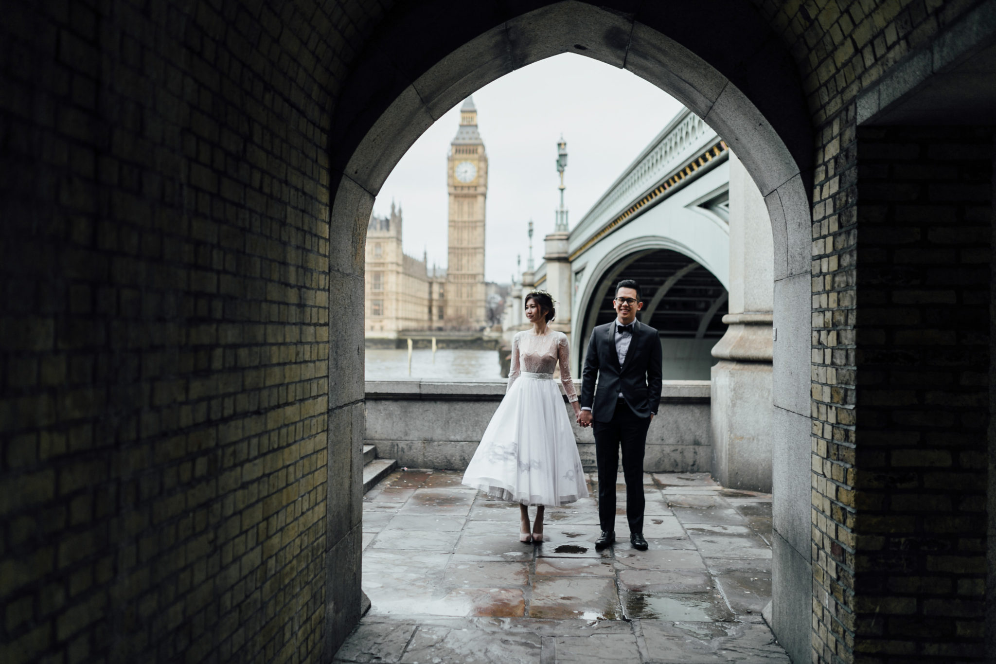 London couples shoot at wesminster