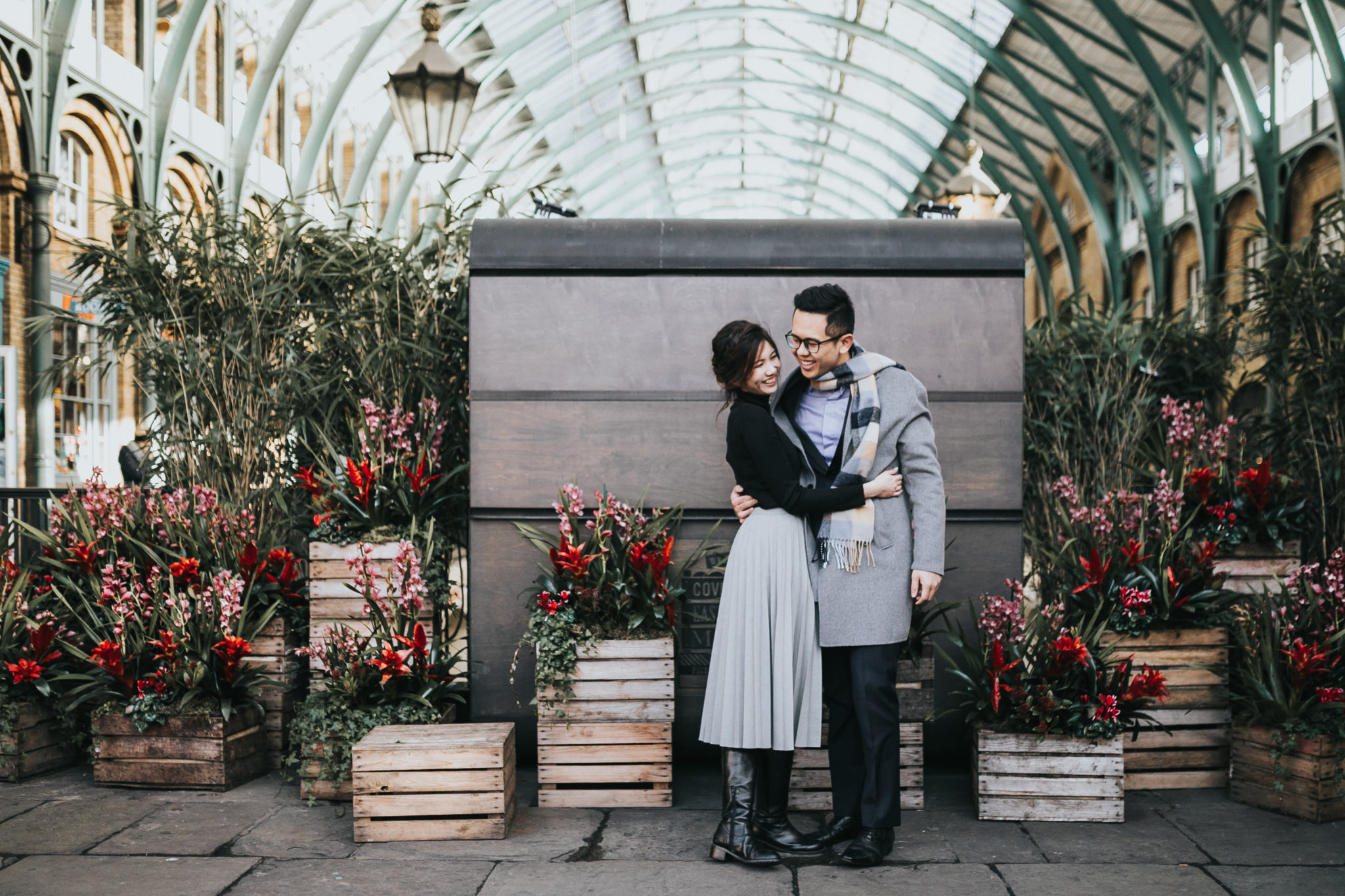 top best locations for engagement shoot in london covent garden
