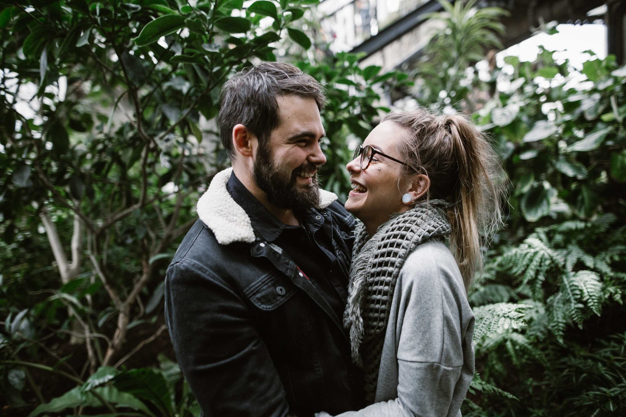barbican conservatory engagement shoot