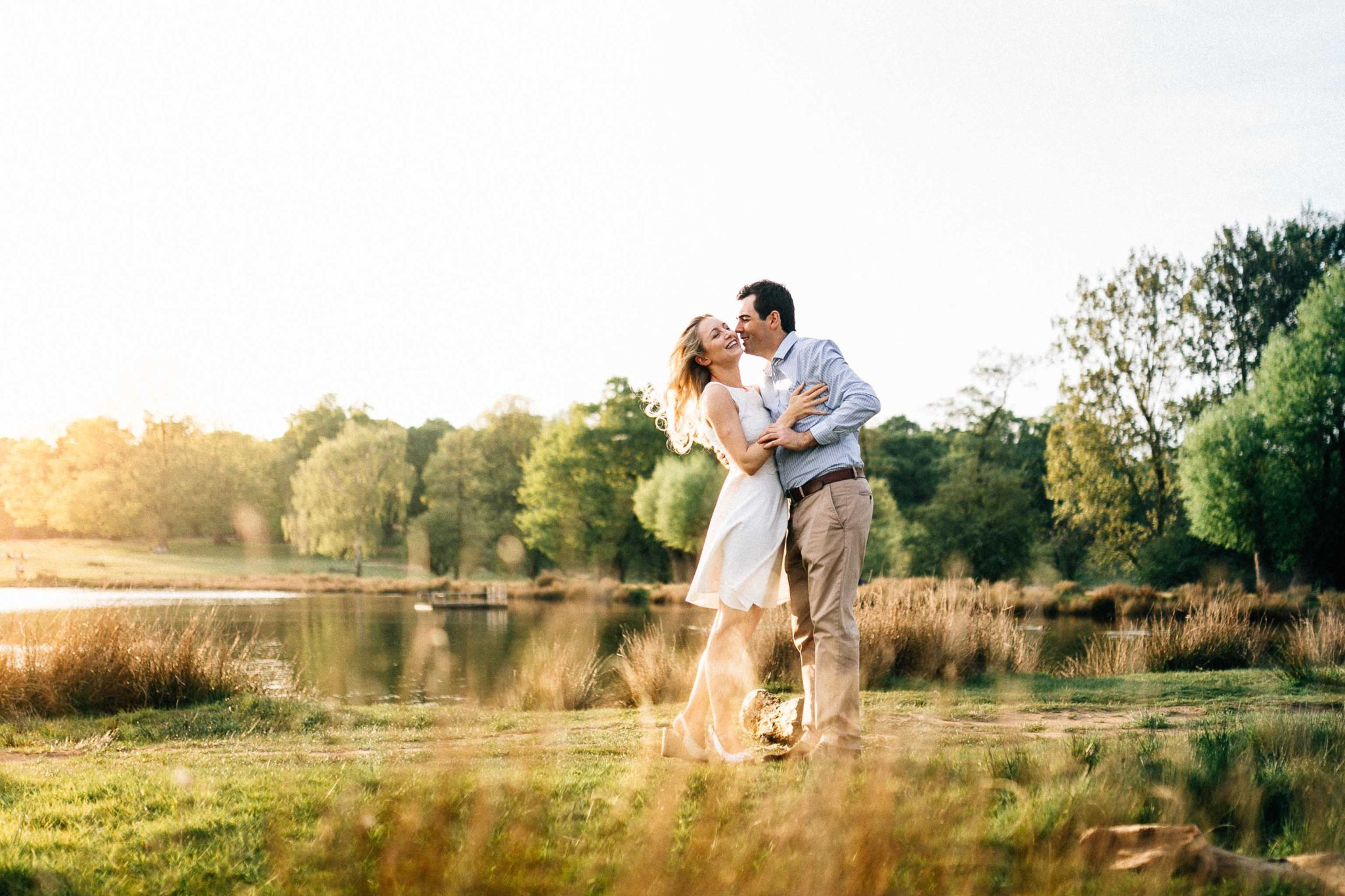 Best locations in london for engagement shoot richmond park