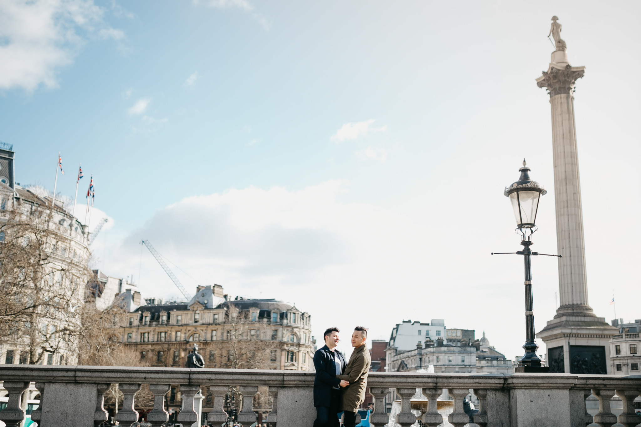 lgbt gay wedding photograpger for engagement shoots in london