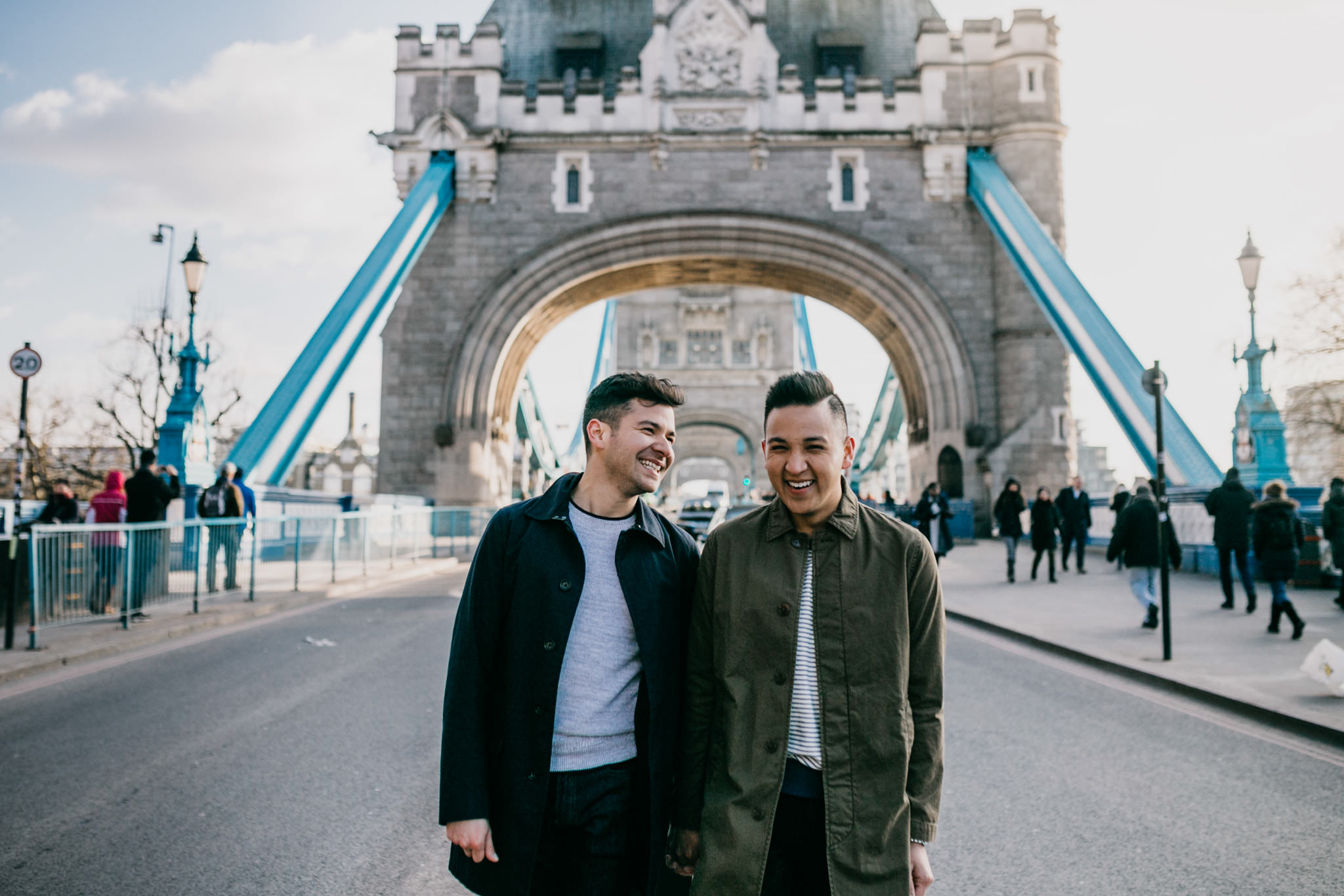 lgbt wedding photographer london engagement shoot