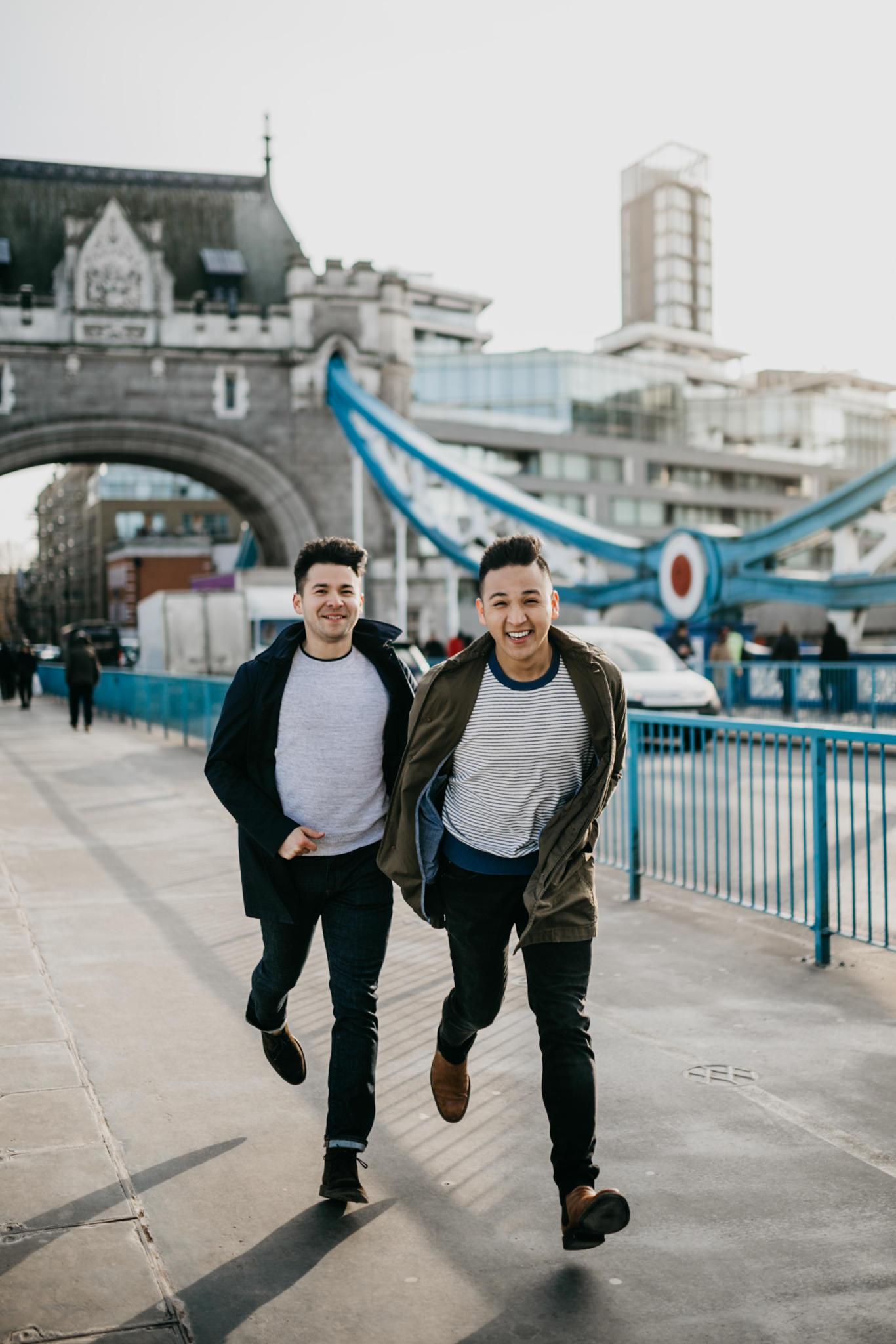 tower bridge best Engagement shoot locations in London