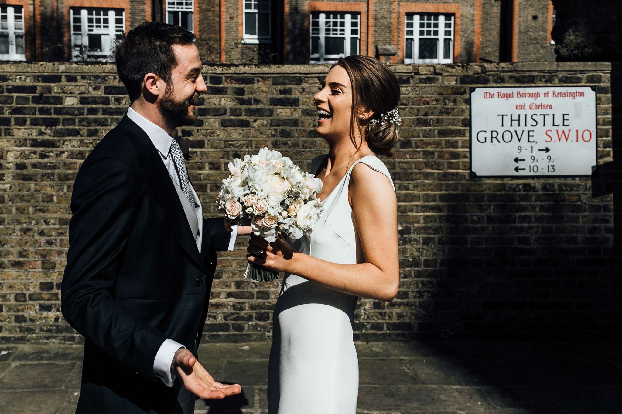 wedding in kensington and chelsea