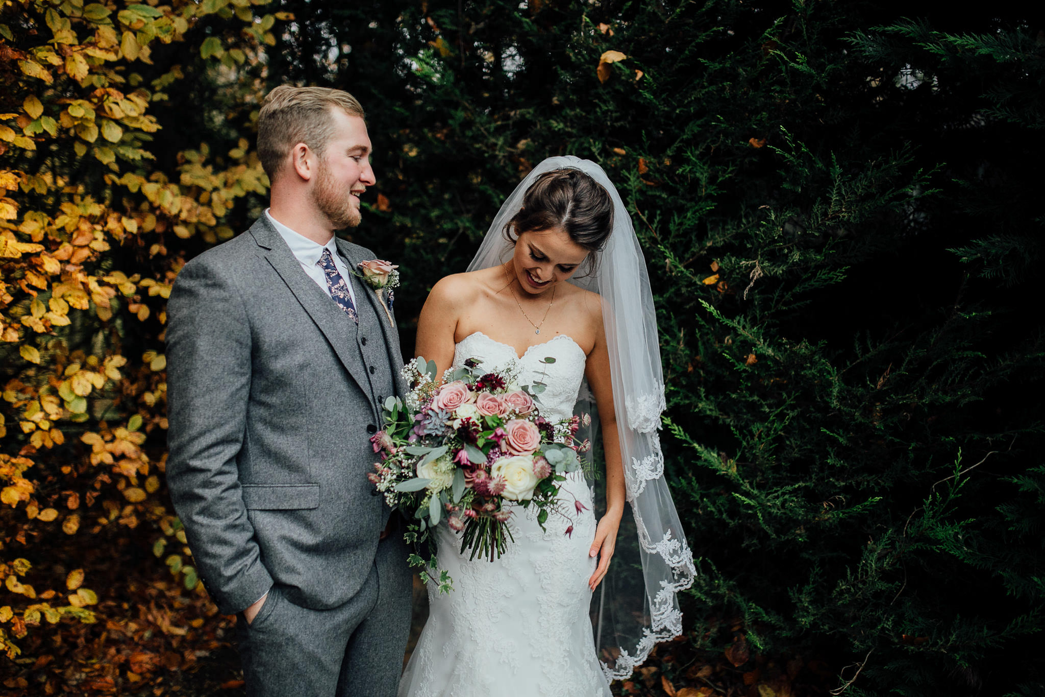 autumn wedding in london