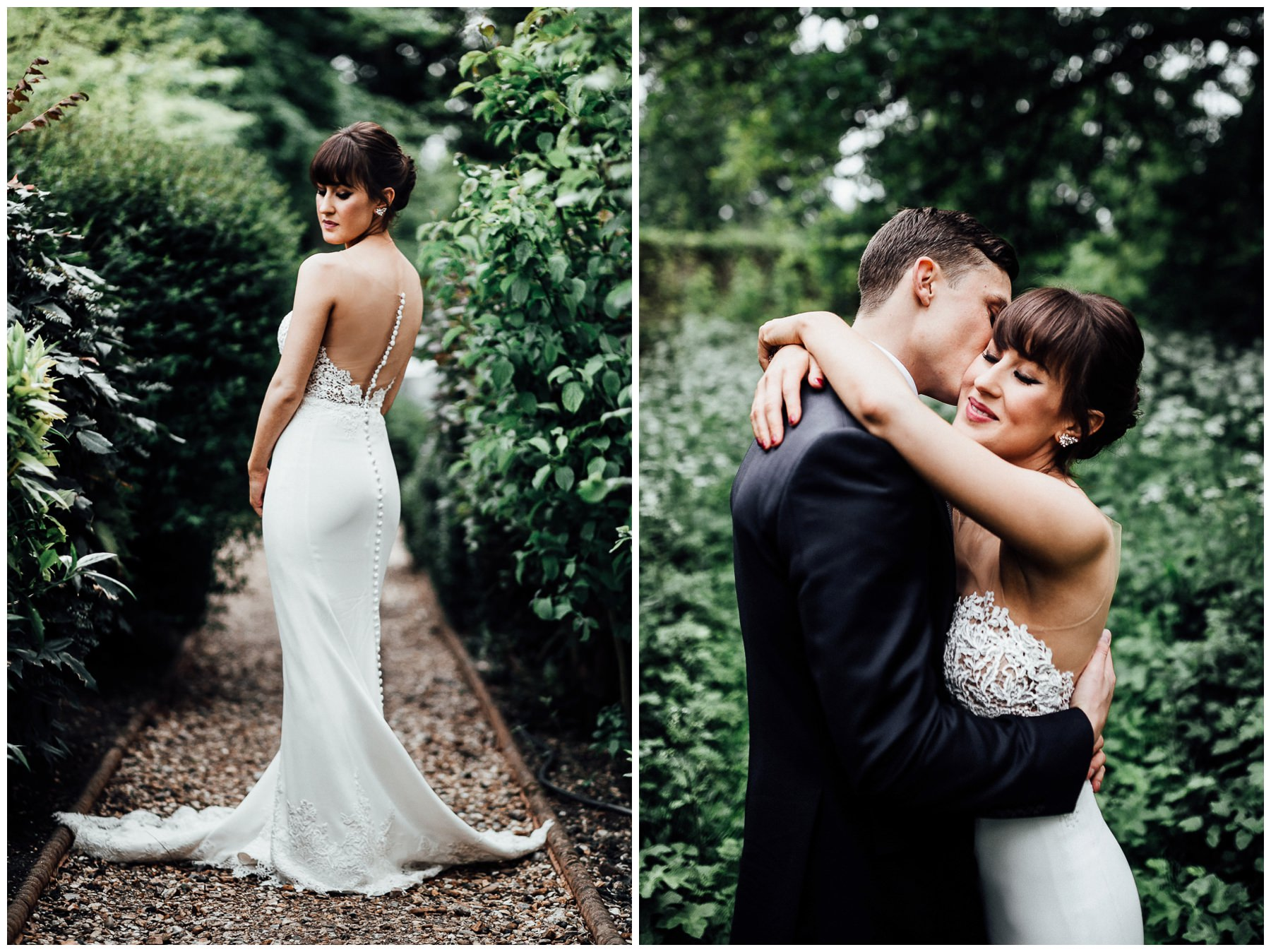 martina liana gown at woodland wedding in london
