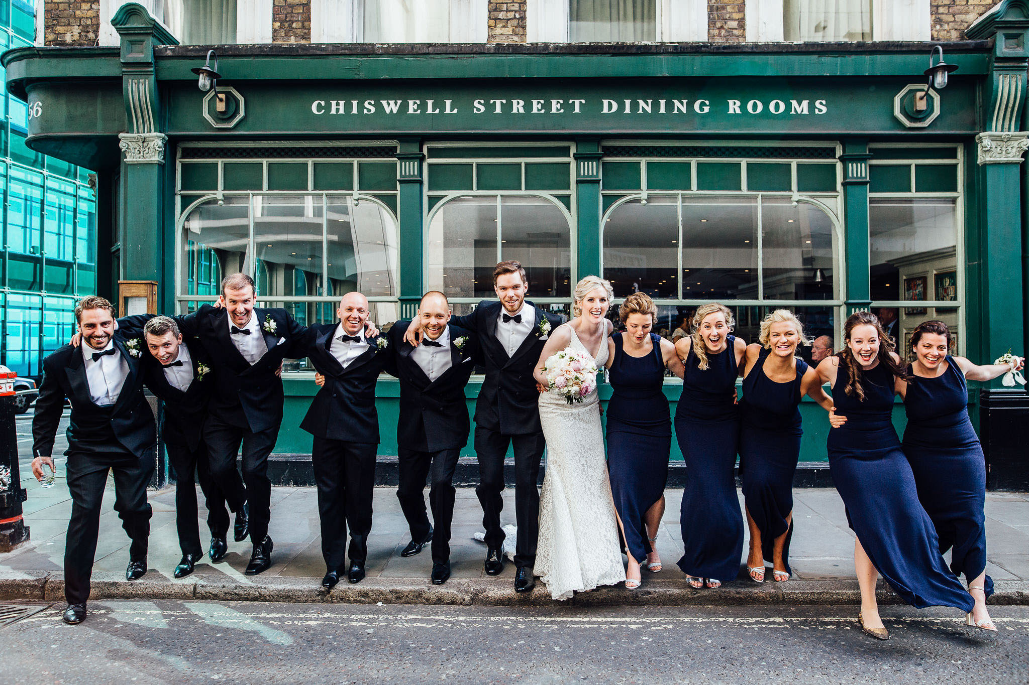 chiswell street dining rooms wedding photos