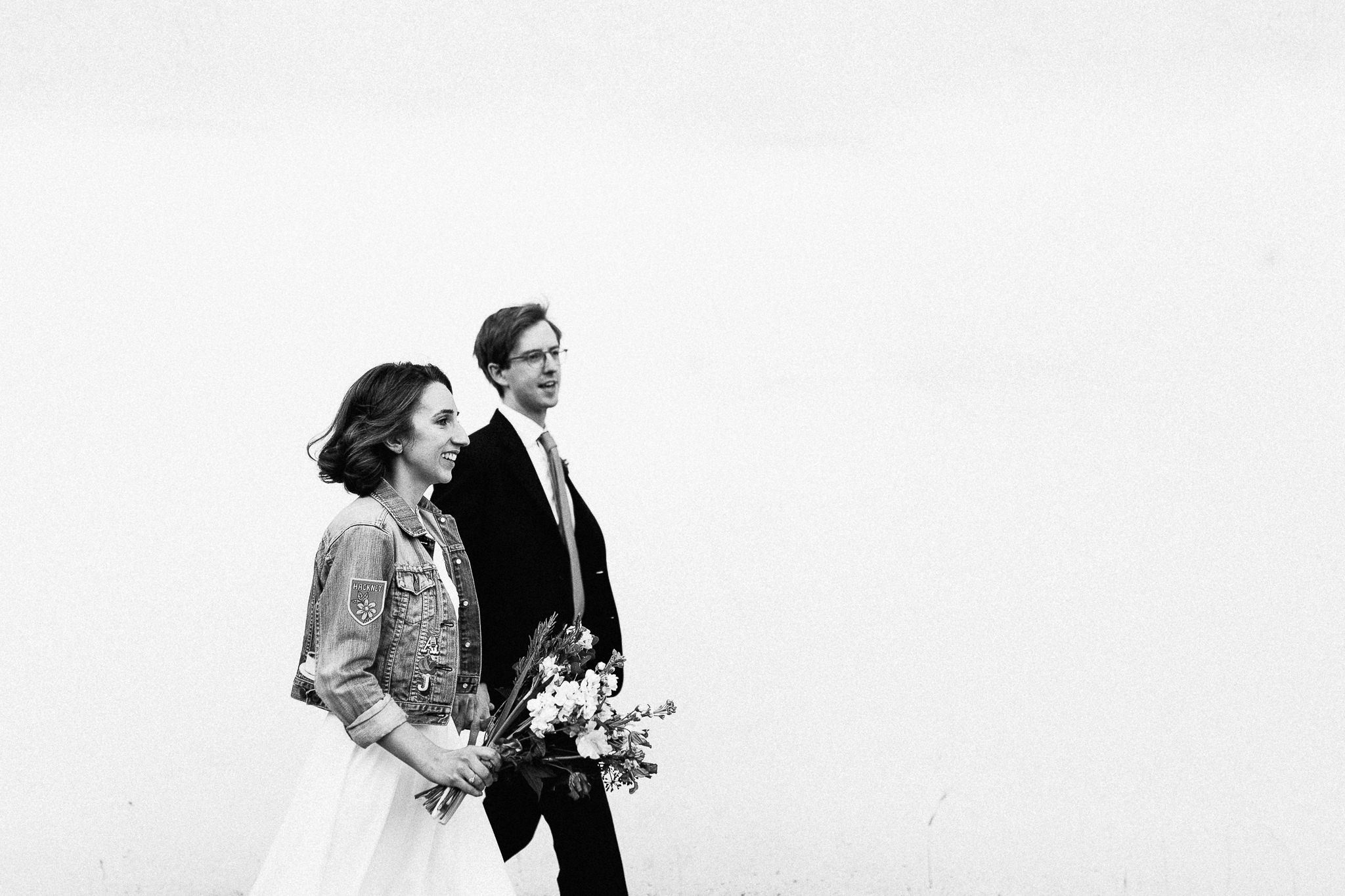 fun candid hackney wedding photos minimalistic