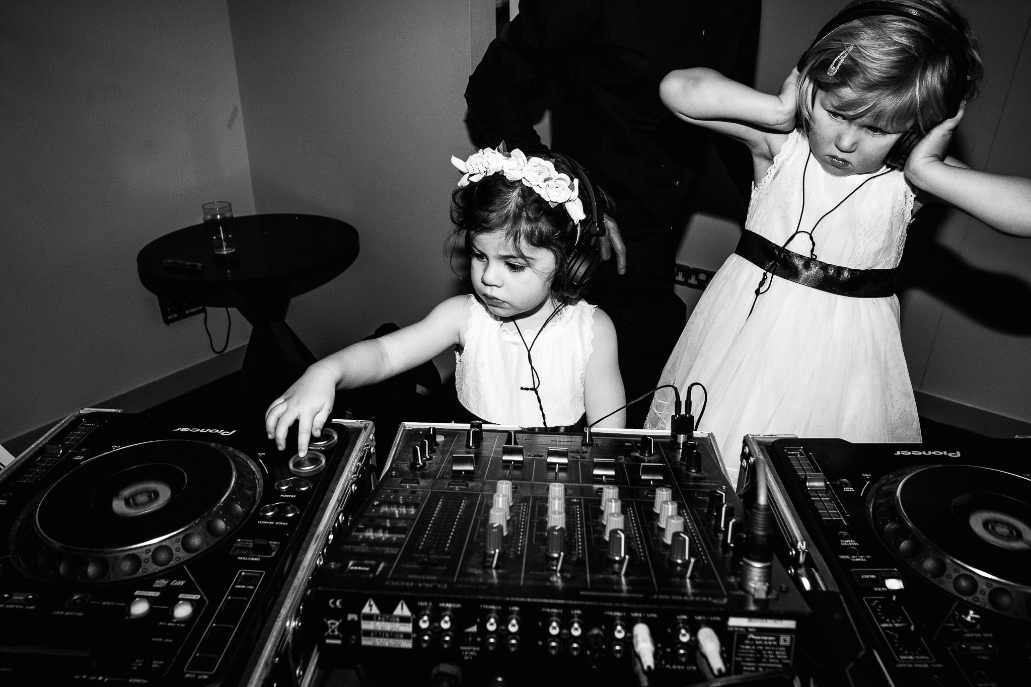 kids at weddings dj music