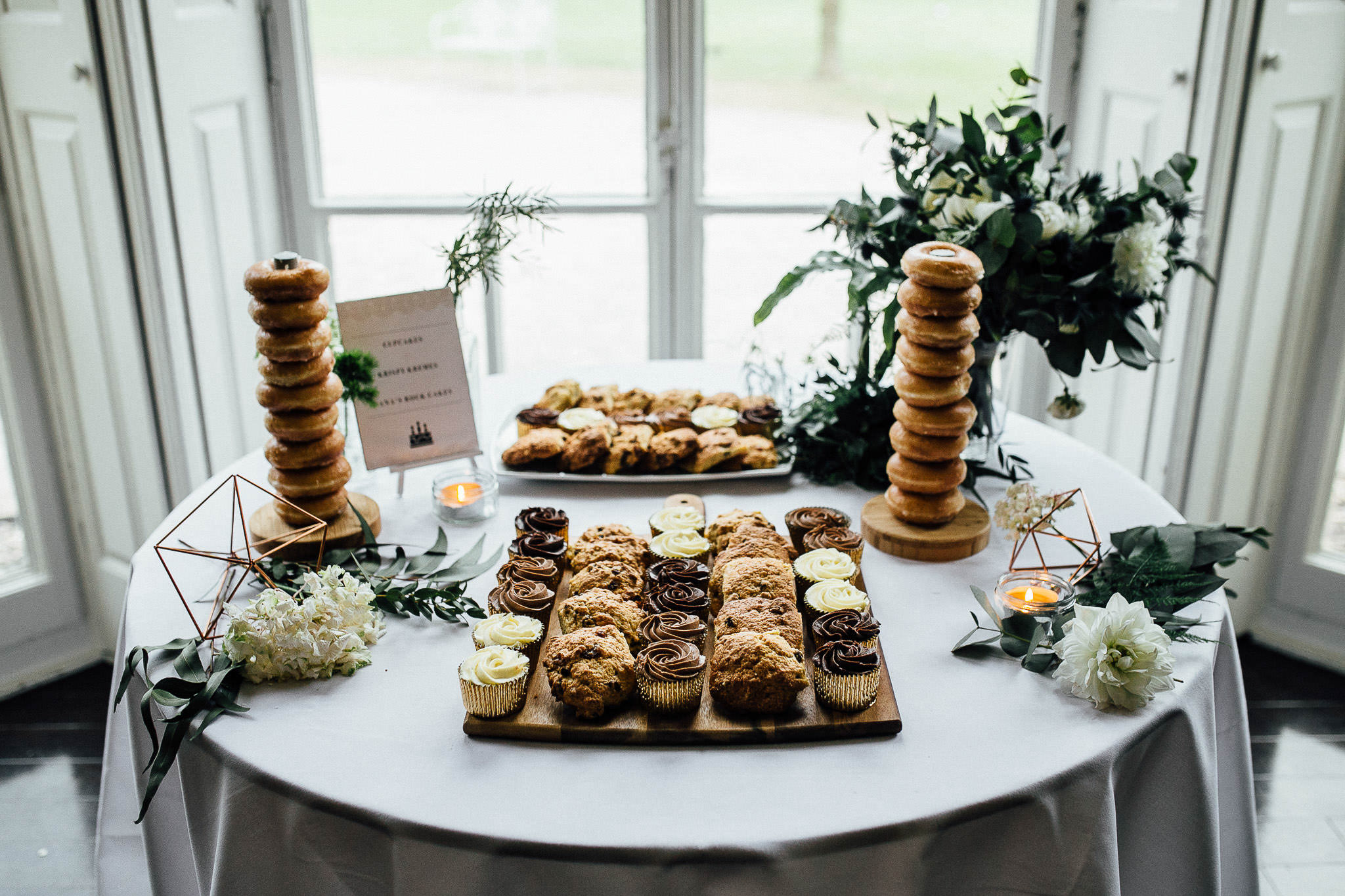 krispy kreme donuts at weddings
