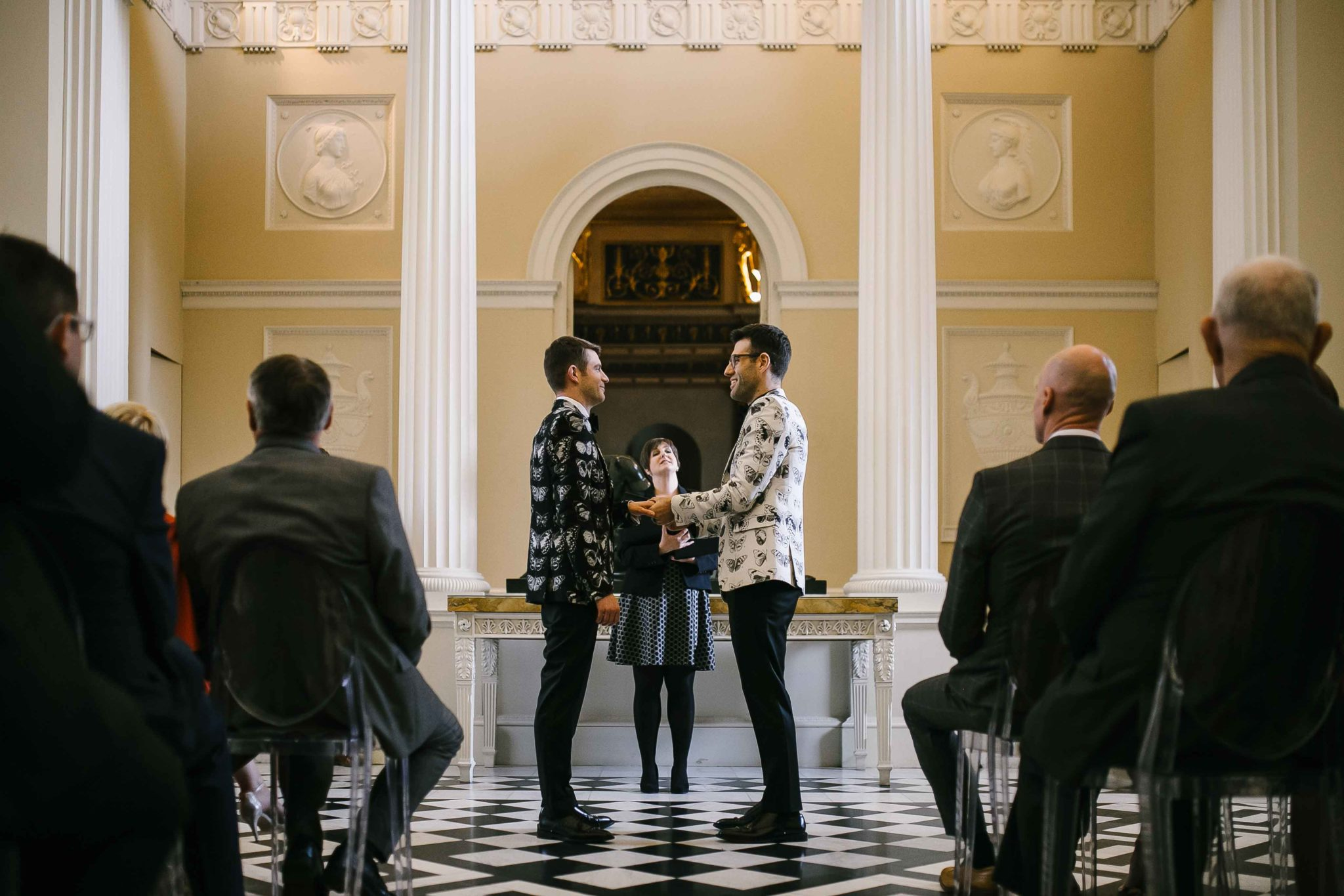 london gay wedding at syon park