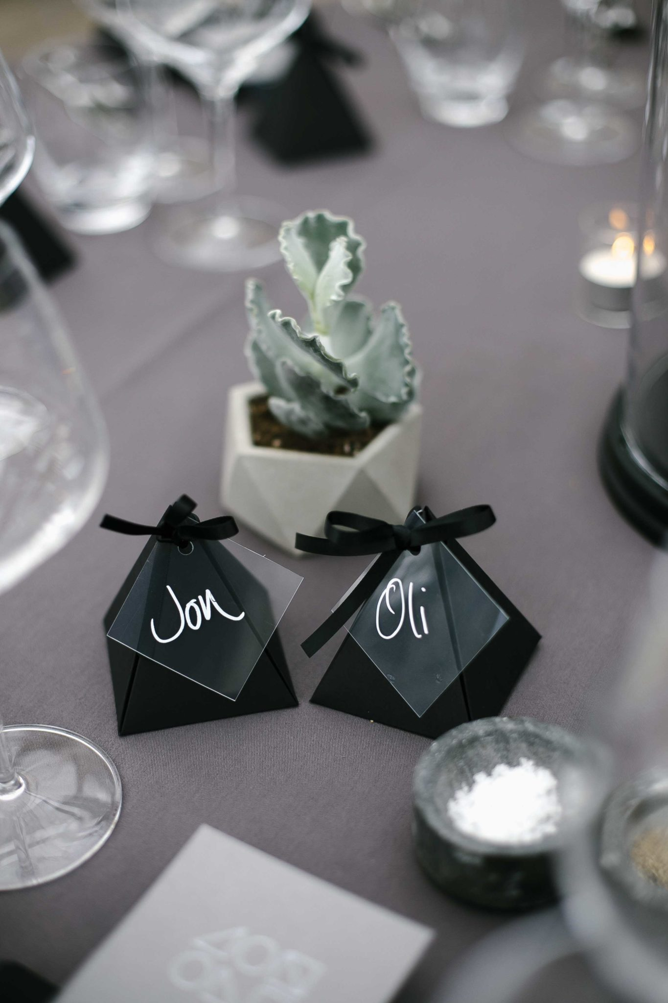 botanical wedding succulent decoration at syon park
