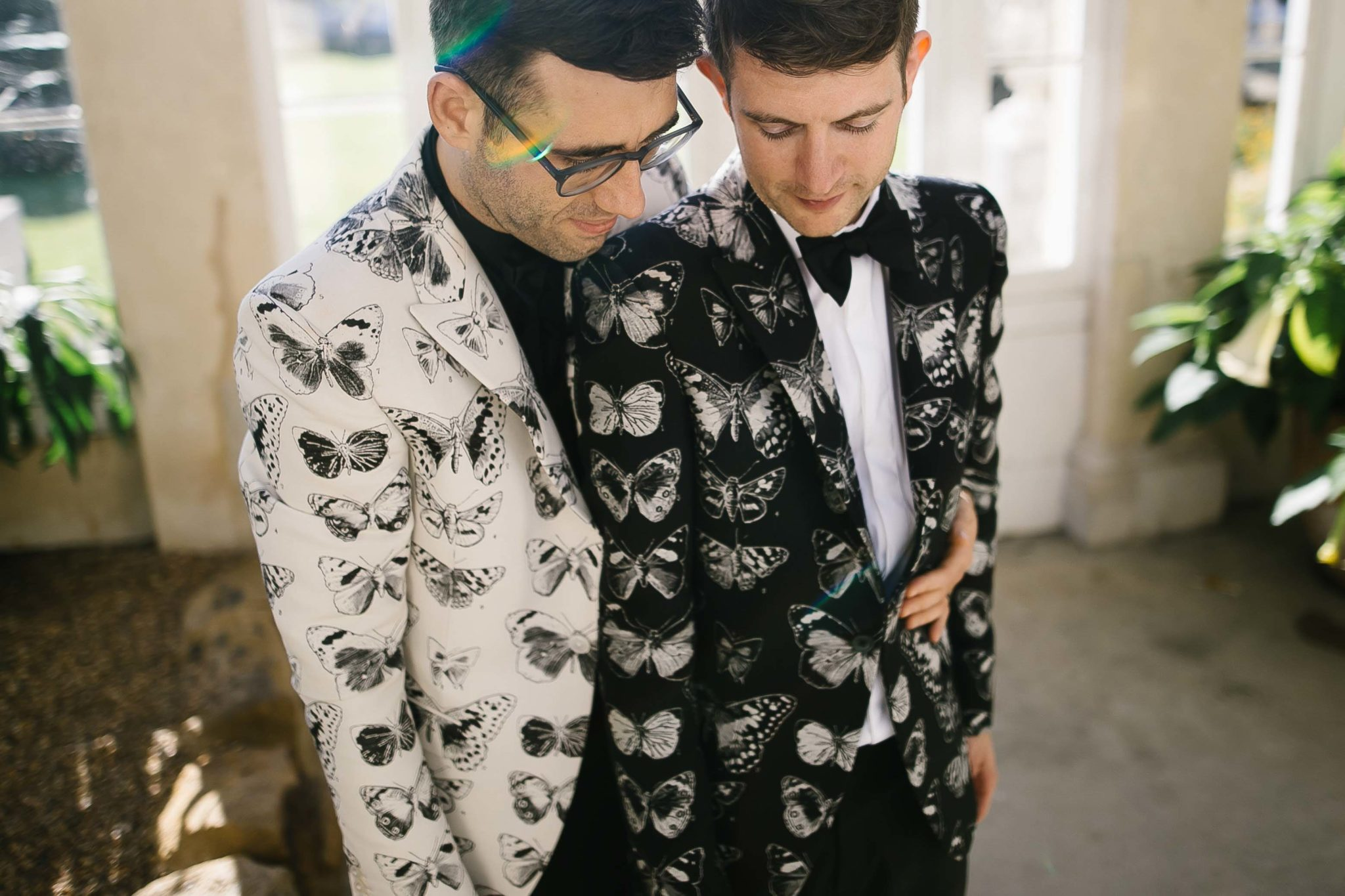 gay couple married at syon park london