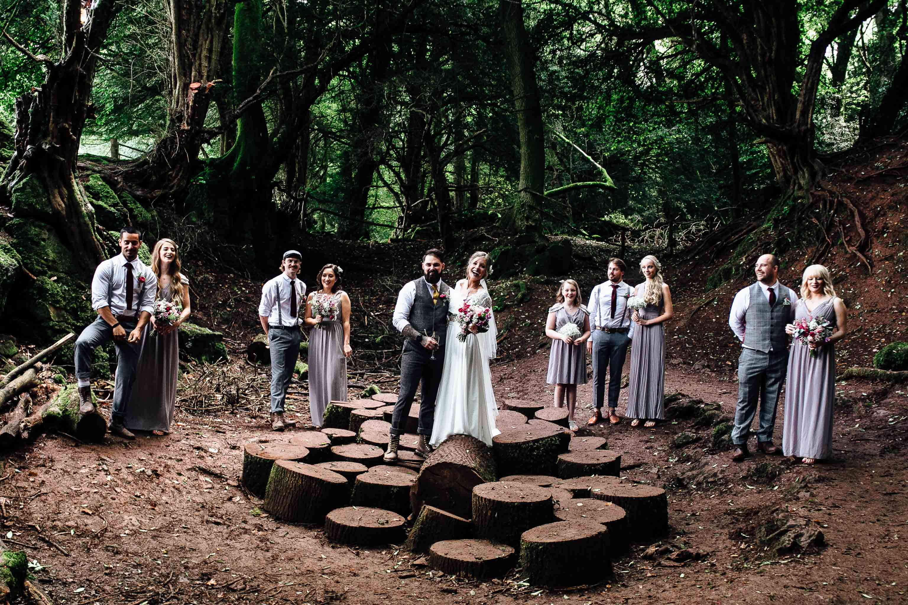woodland wedding inspiration forest of dean