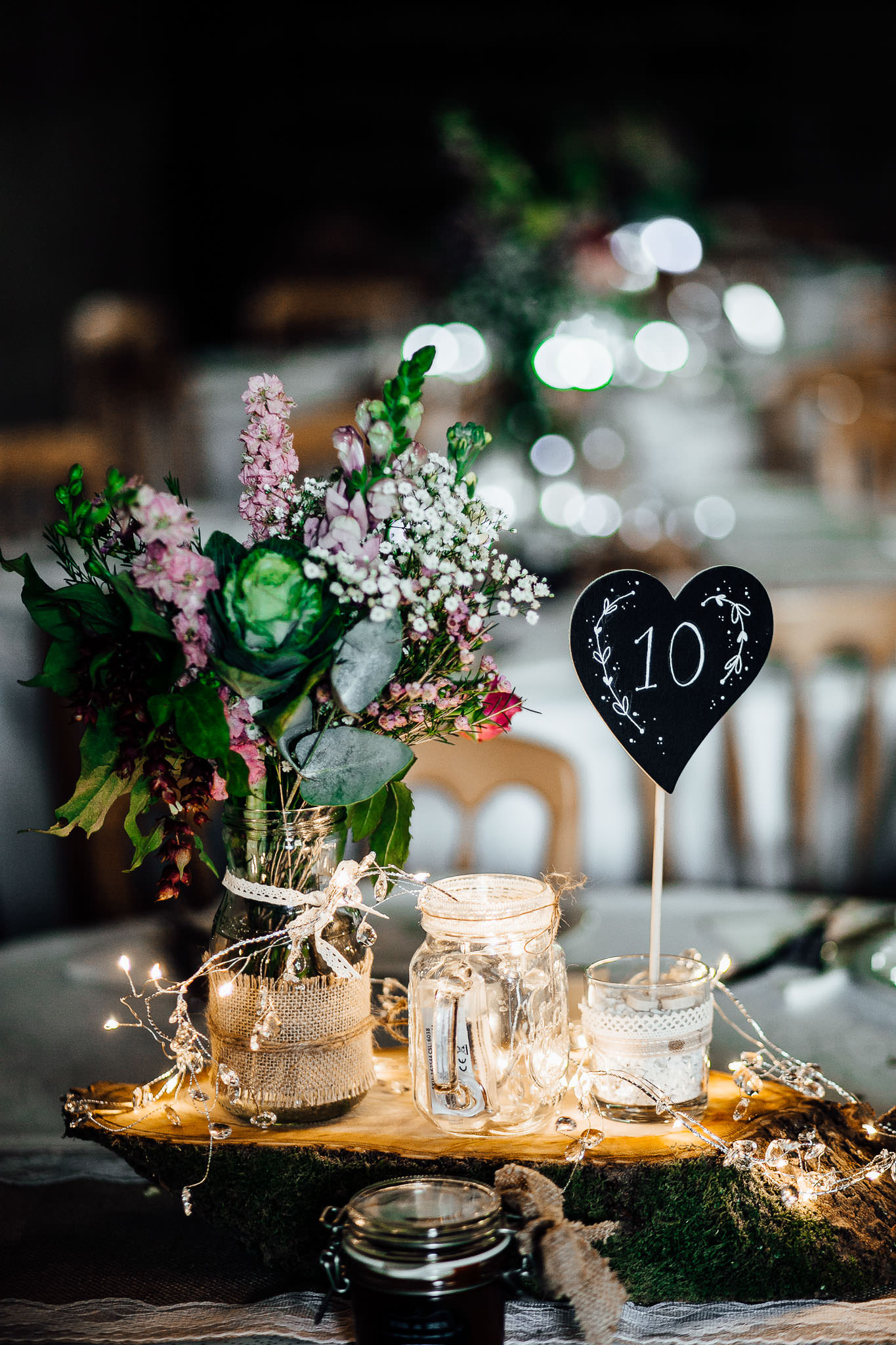 diy ebay and esty woodland wedding decoration