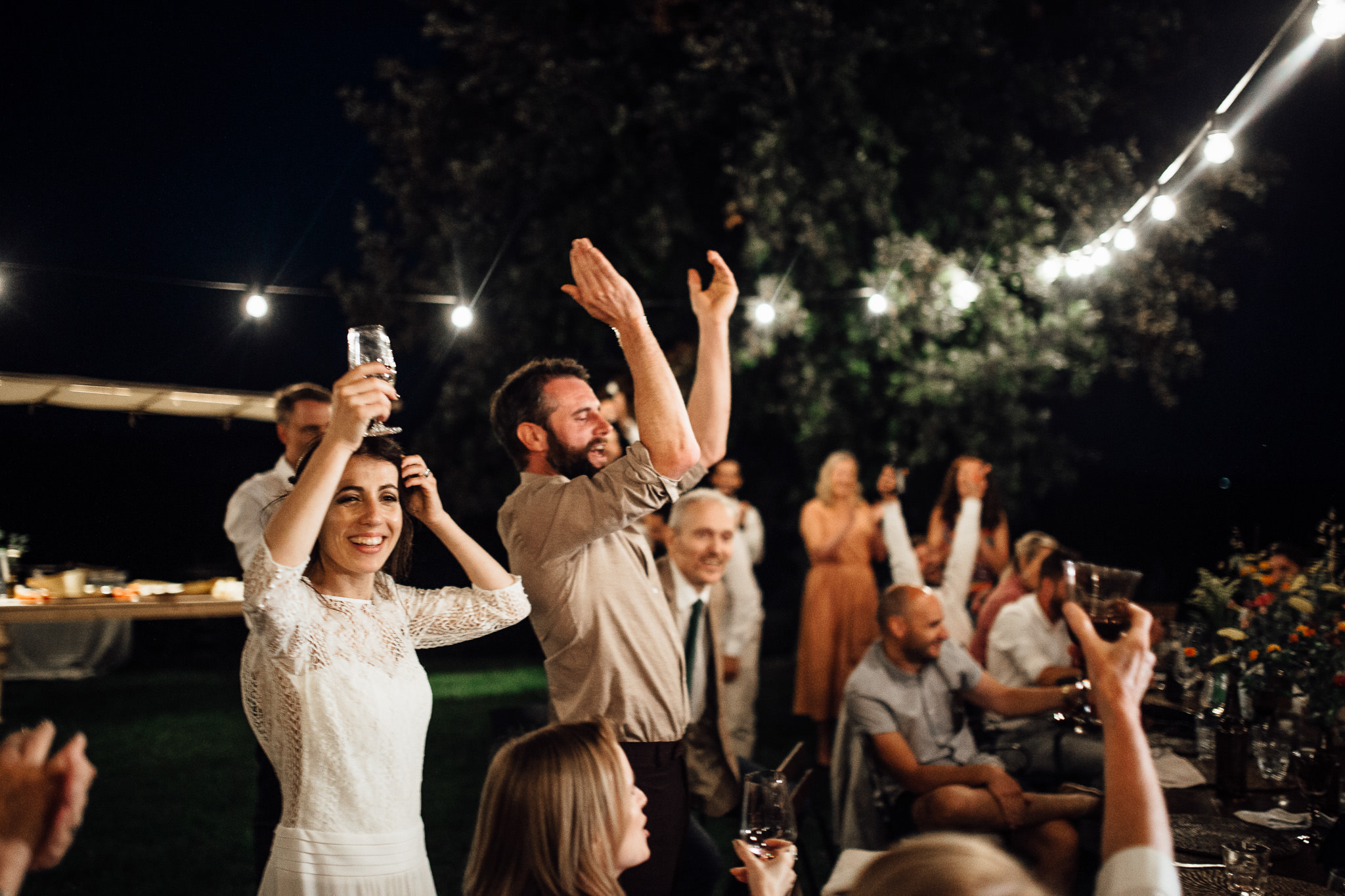 destination outdoor wedding in tuscany italy