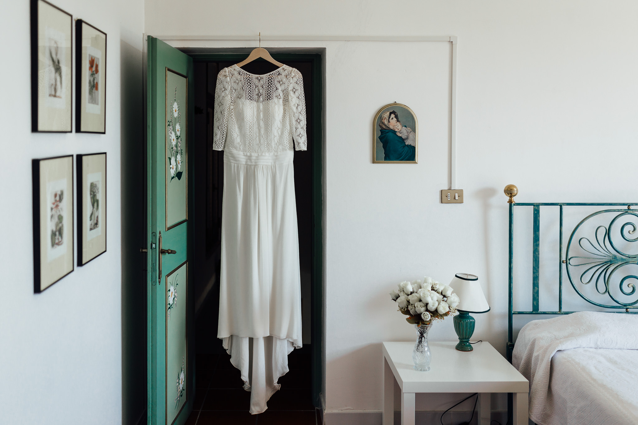 laure de sagazan dress destination wedding in italy