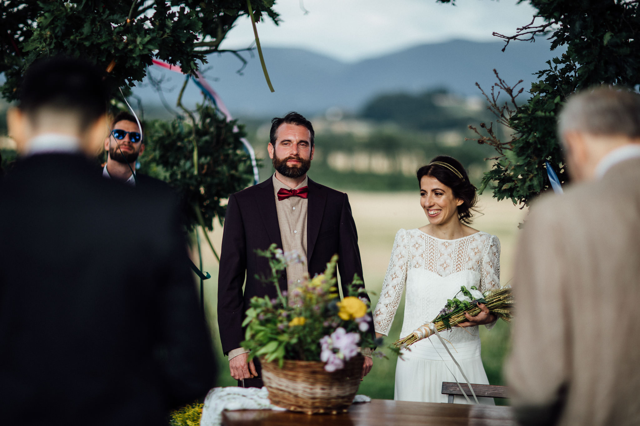 boho outdoor wedding inspiration in italy