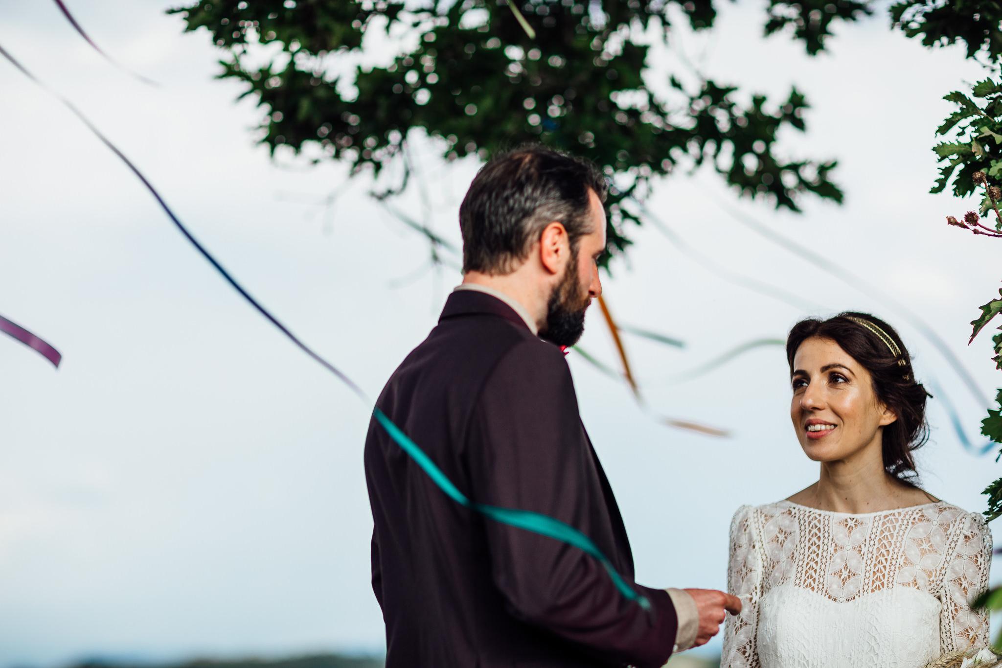 boho outdoor wedding inspiration in italy