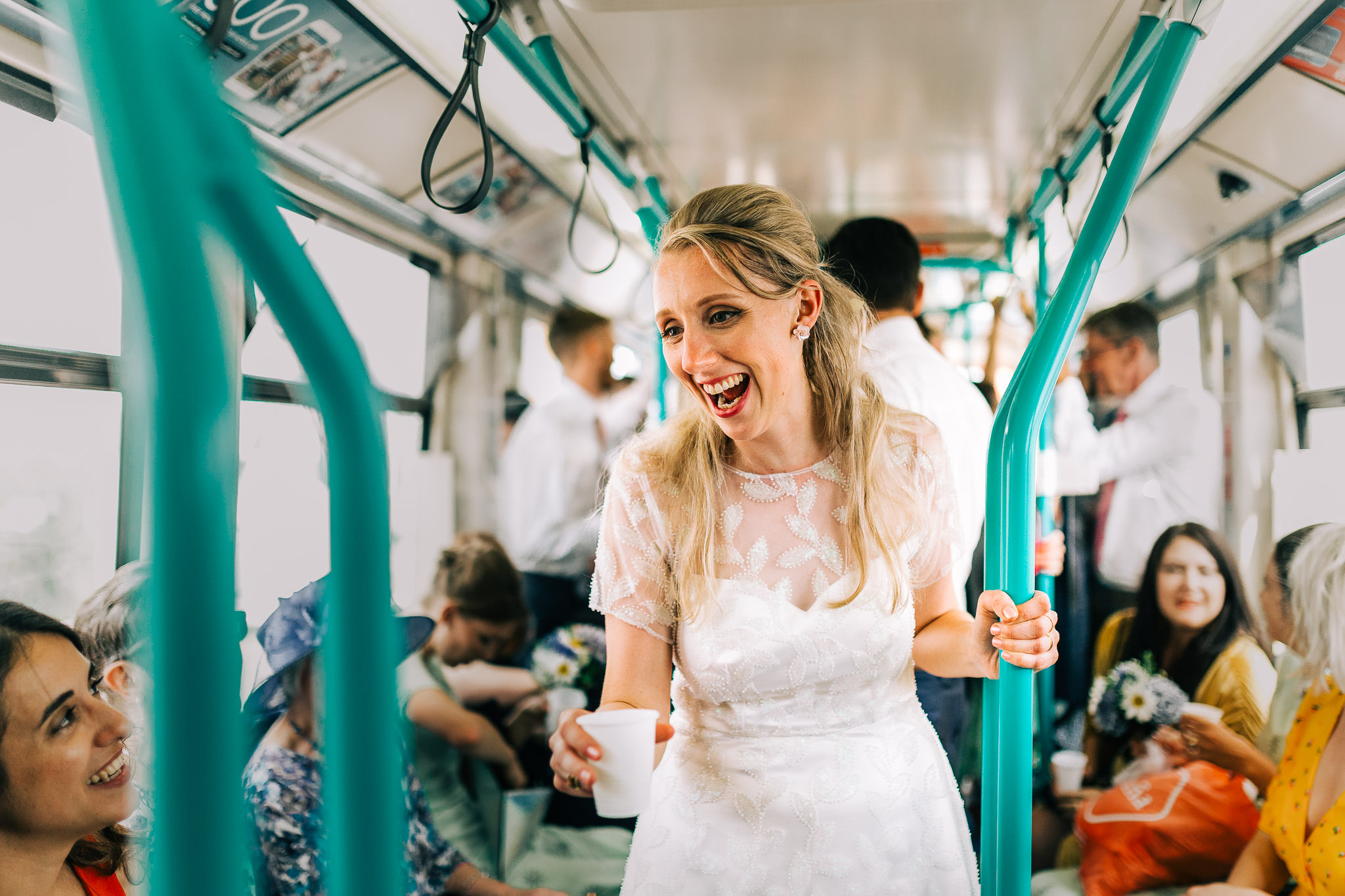 bride on the tube