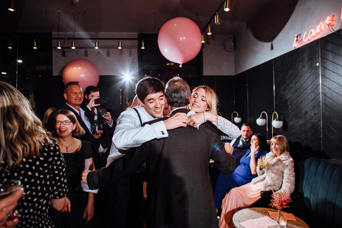 wedding reception at london clerkenwell grind