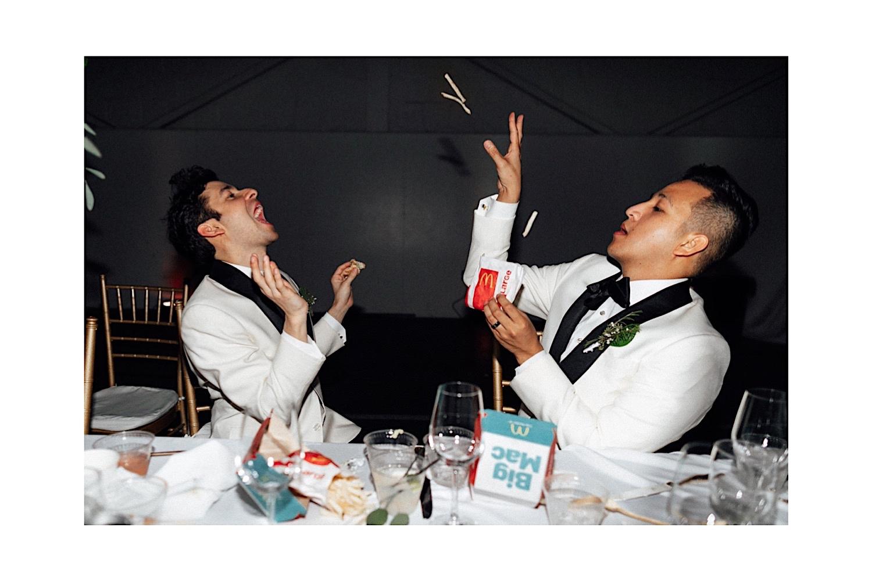 mc donalds at weddings