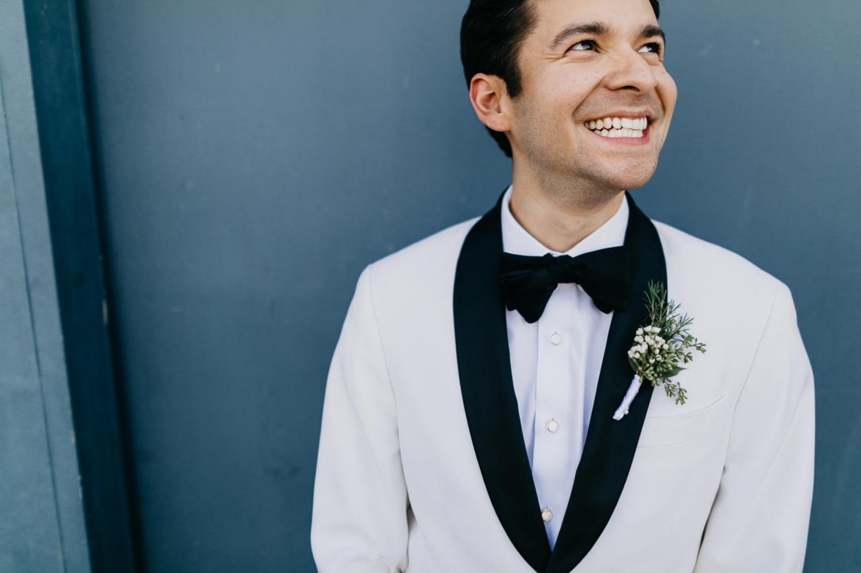 white tux gay wedding ideas