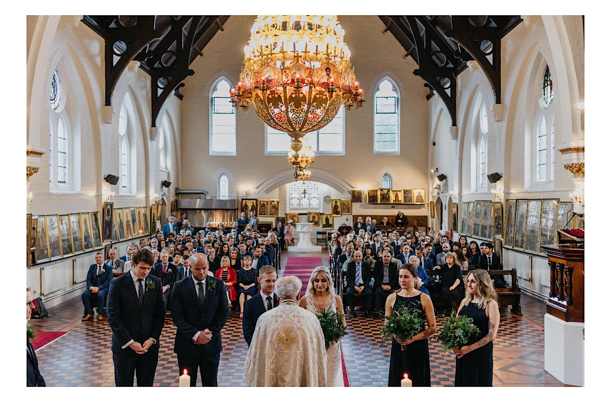 london greek wedding church
